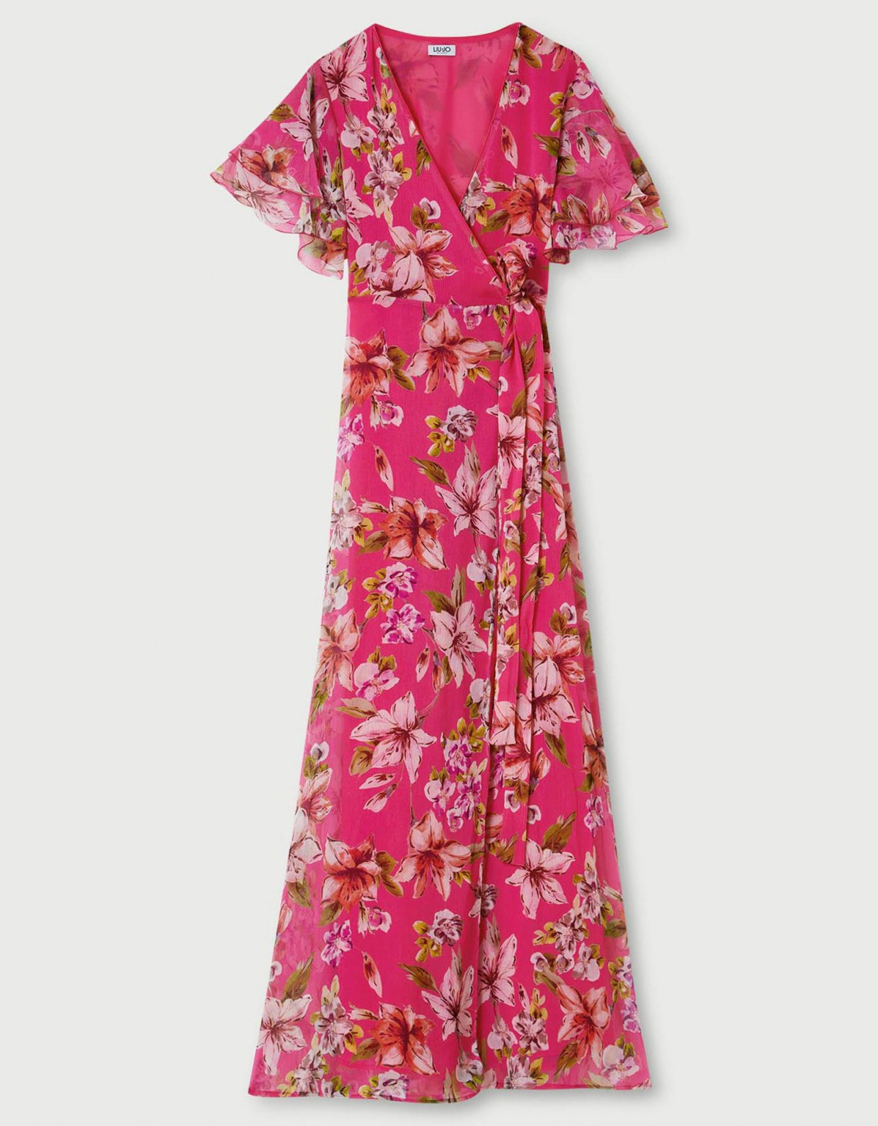 Liu Jo Long dress with bow