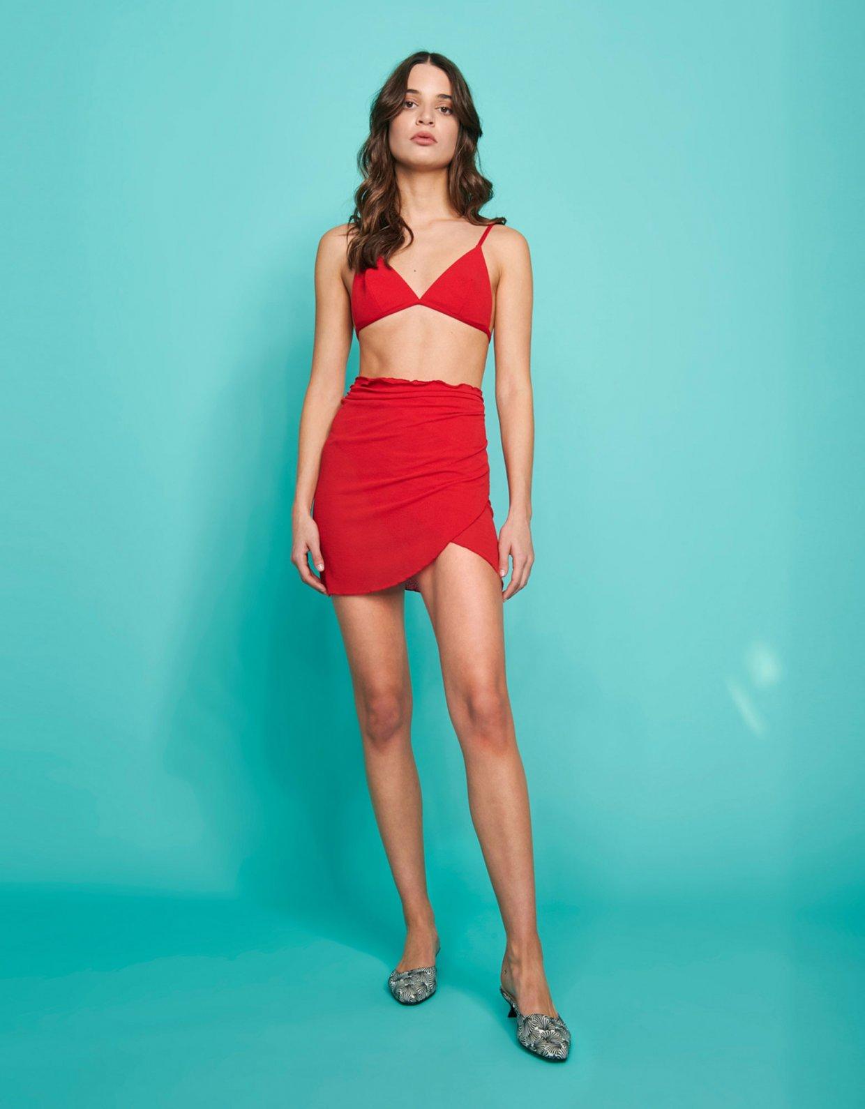 Sunset go Atlantis bikini red/gaufre