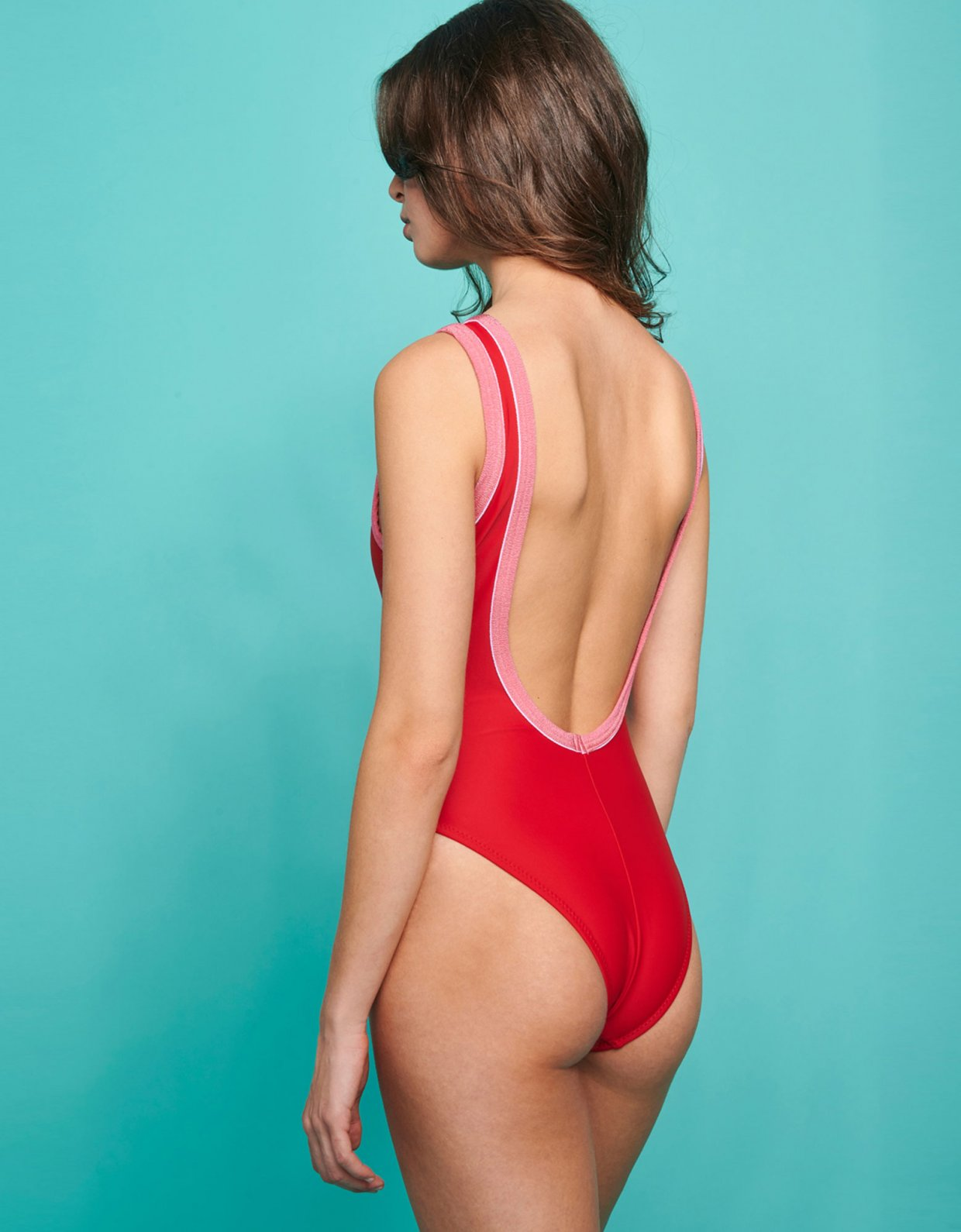 Sunset go Libra swimsuit red/pink