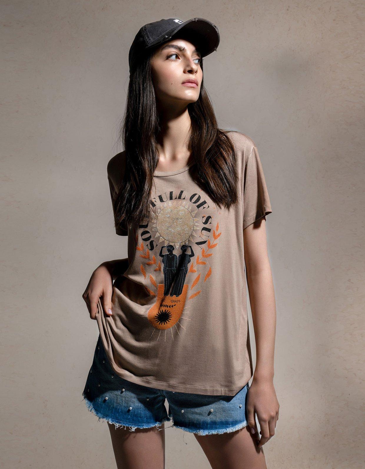 Peace & Chaos Soul full of sun t-shirt
