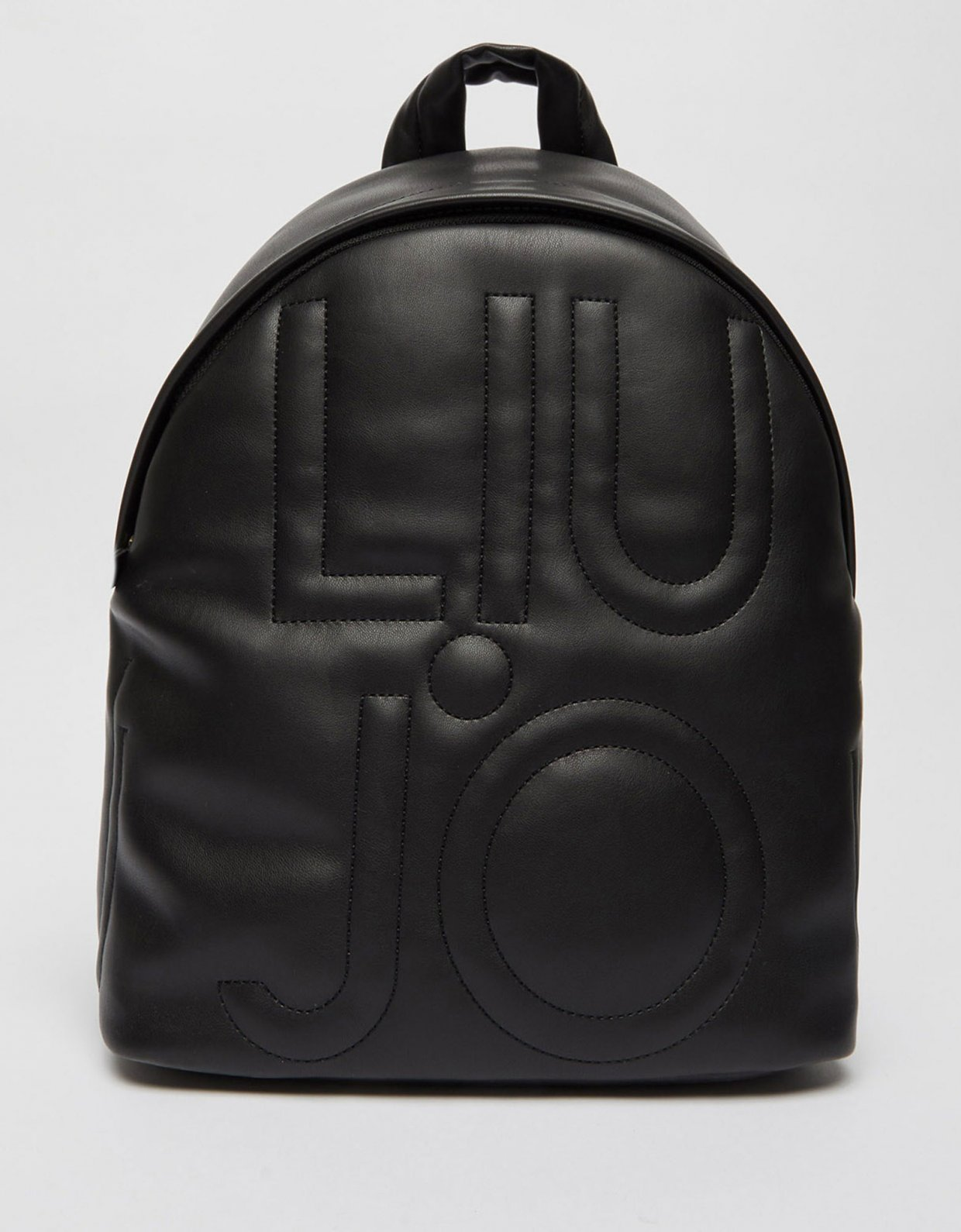 Liu Jo Backpack with quilted logo nero