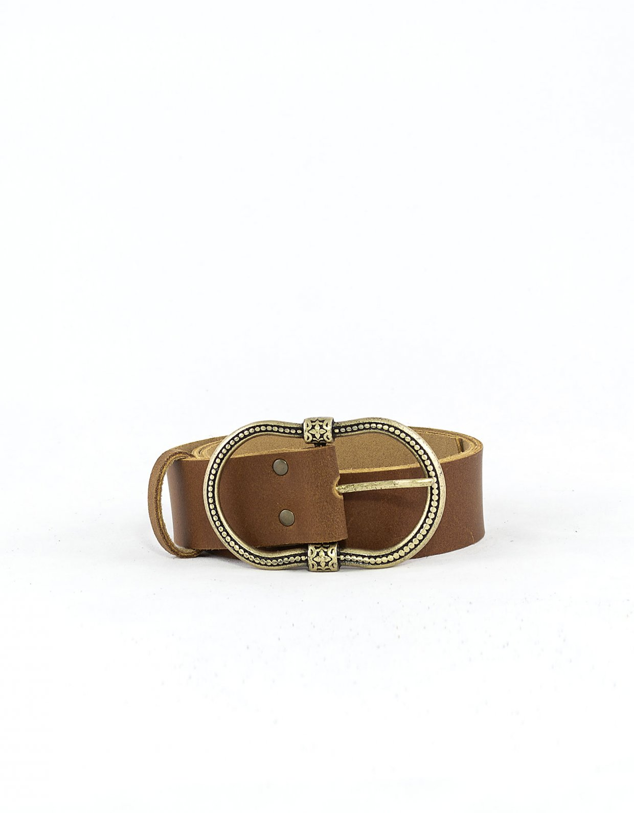 Peace & Chaos Balance belt tanned