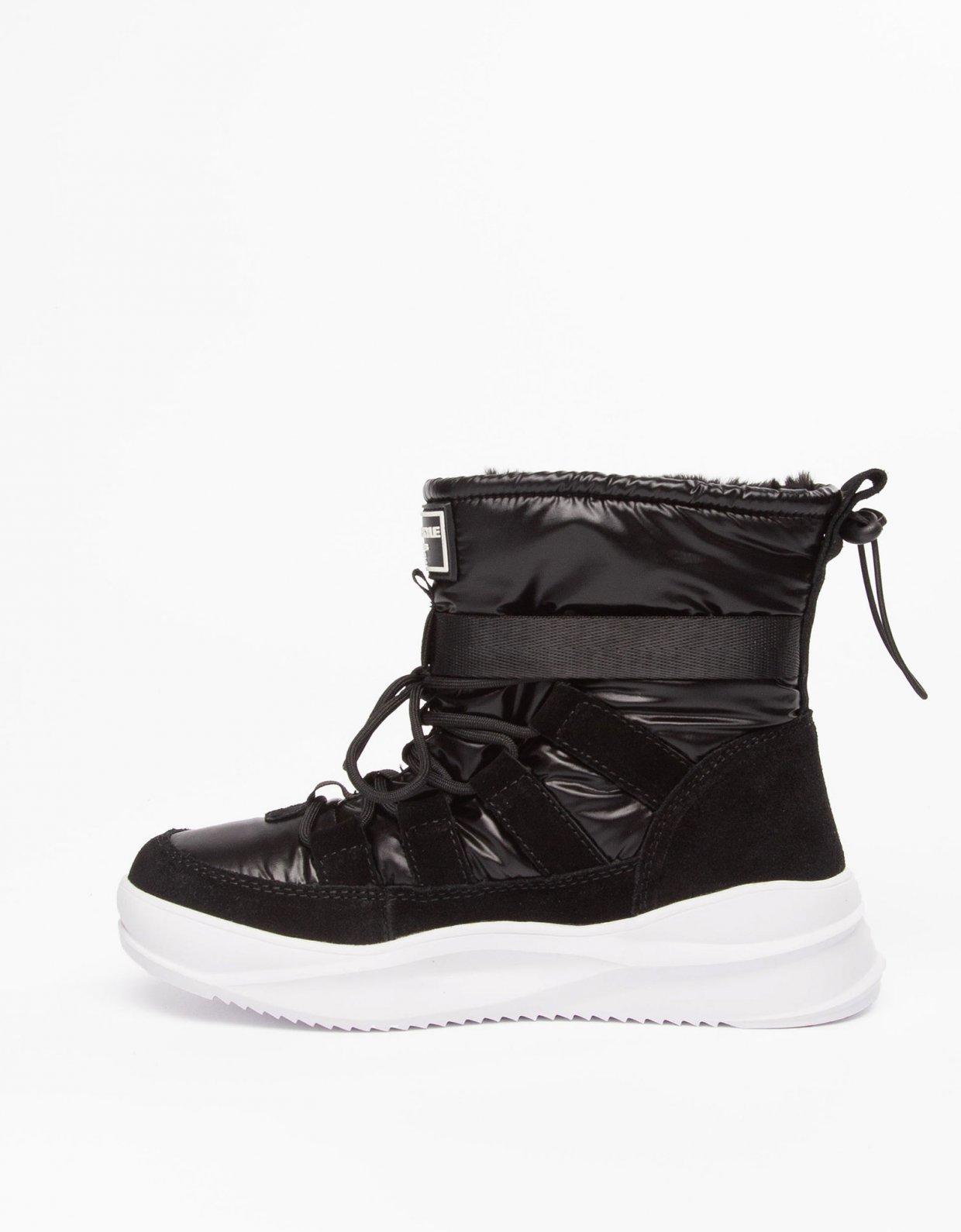 Kendall + Kylie Evor boots black