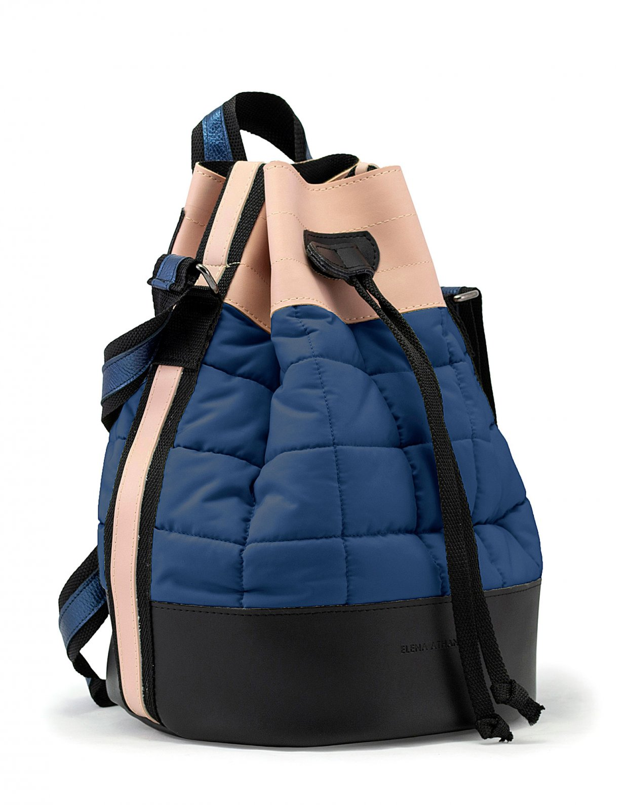 Elena Athanasiou Holiday bag ocean blue