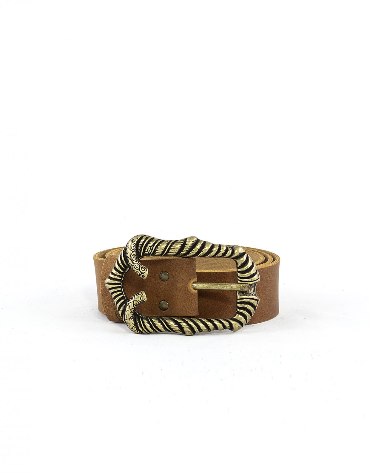 Peace & Chaos Bodhi belt tanned