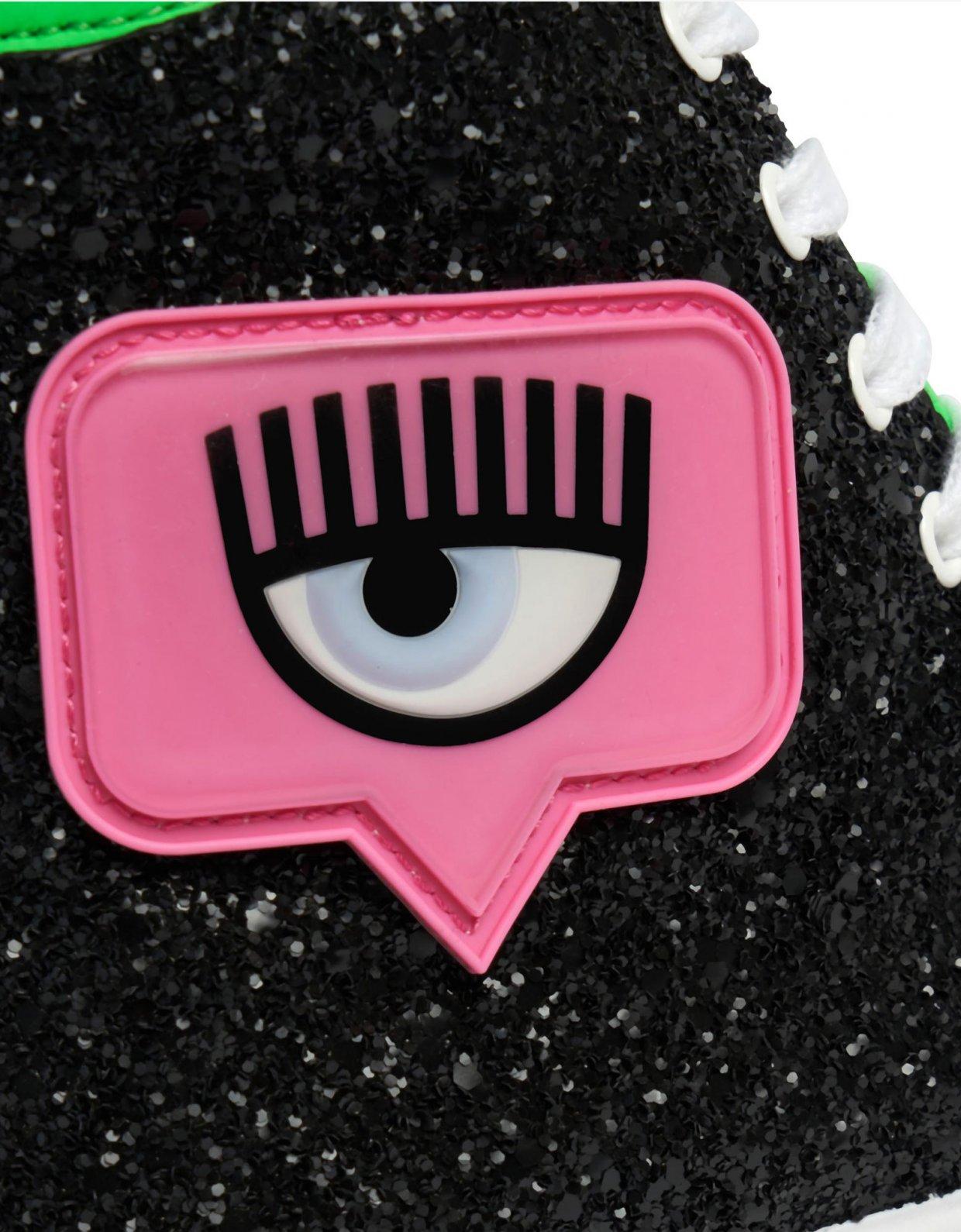 Chiara Ferragni Eyelike sneakers
