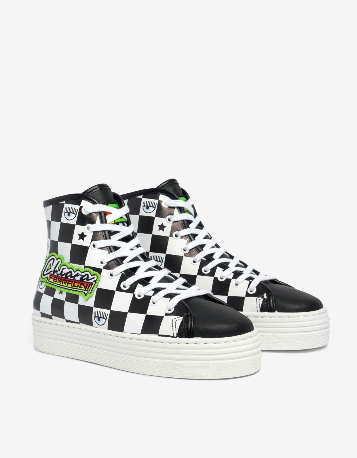 Chiara Ferragni Racing sneakers