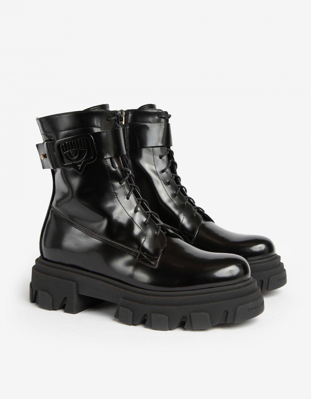 Chiara Ferragni Lace-up boots