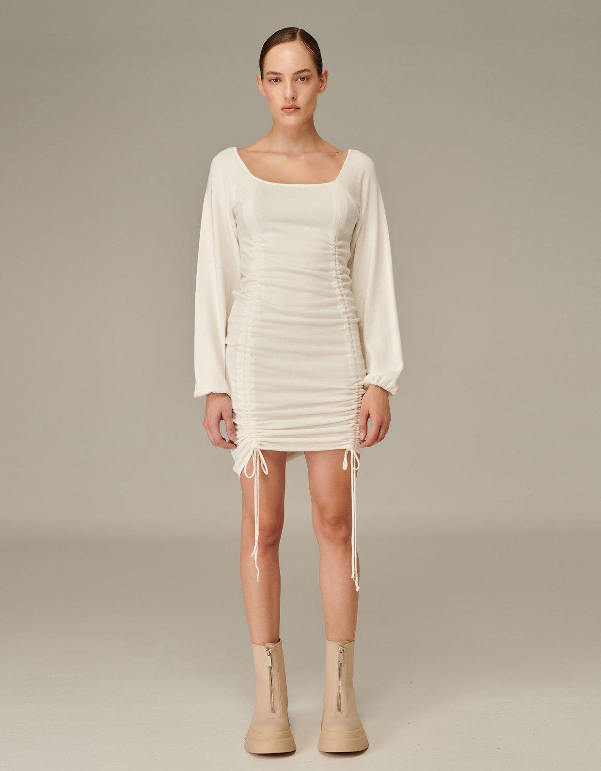 Combos Knitwear Combos W-115 White dress