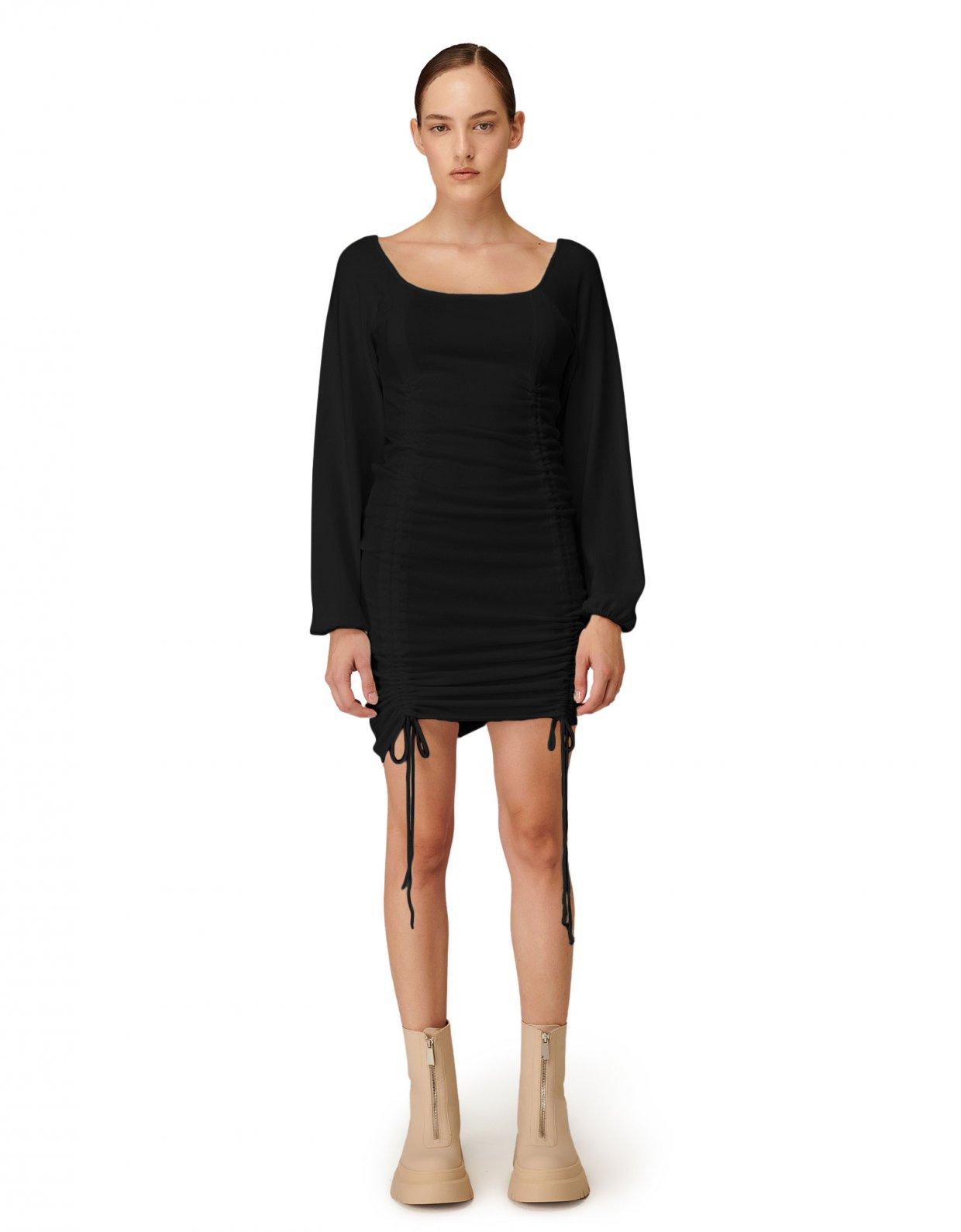 Combos Knitwear Combos W-115 Black dress