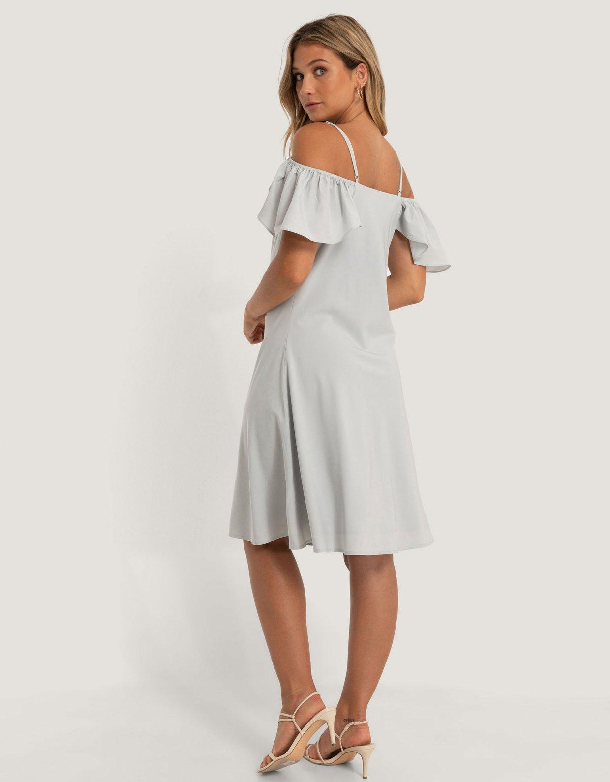 NA-KD Cowl neck mini dress