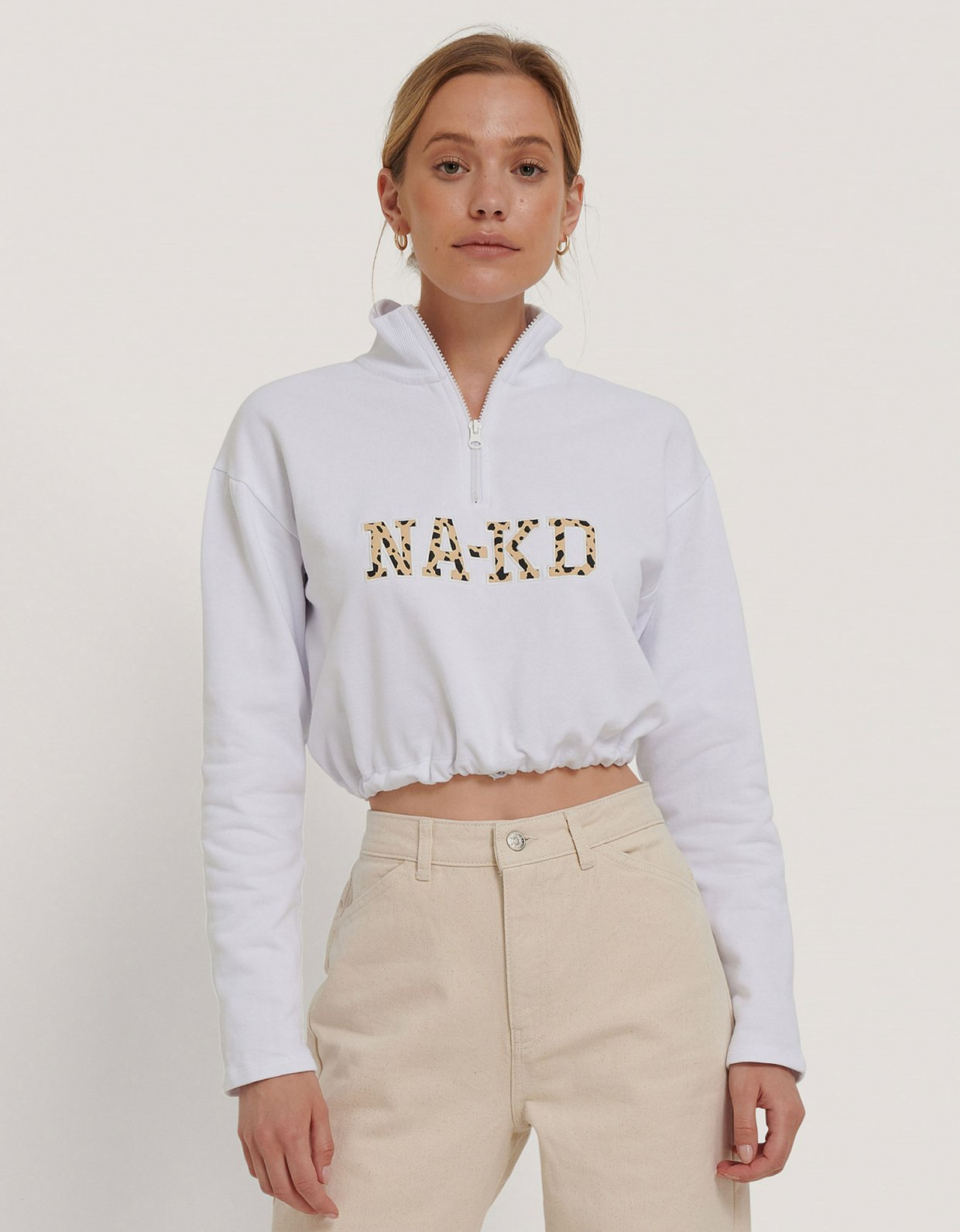 NA-KD Cropped NA-KD sweater