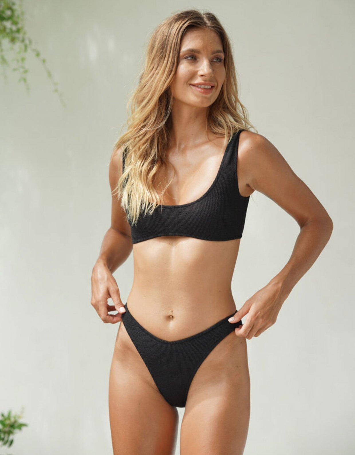 Lookseri swimwear Del colorenerobikini