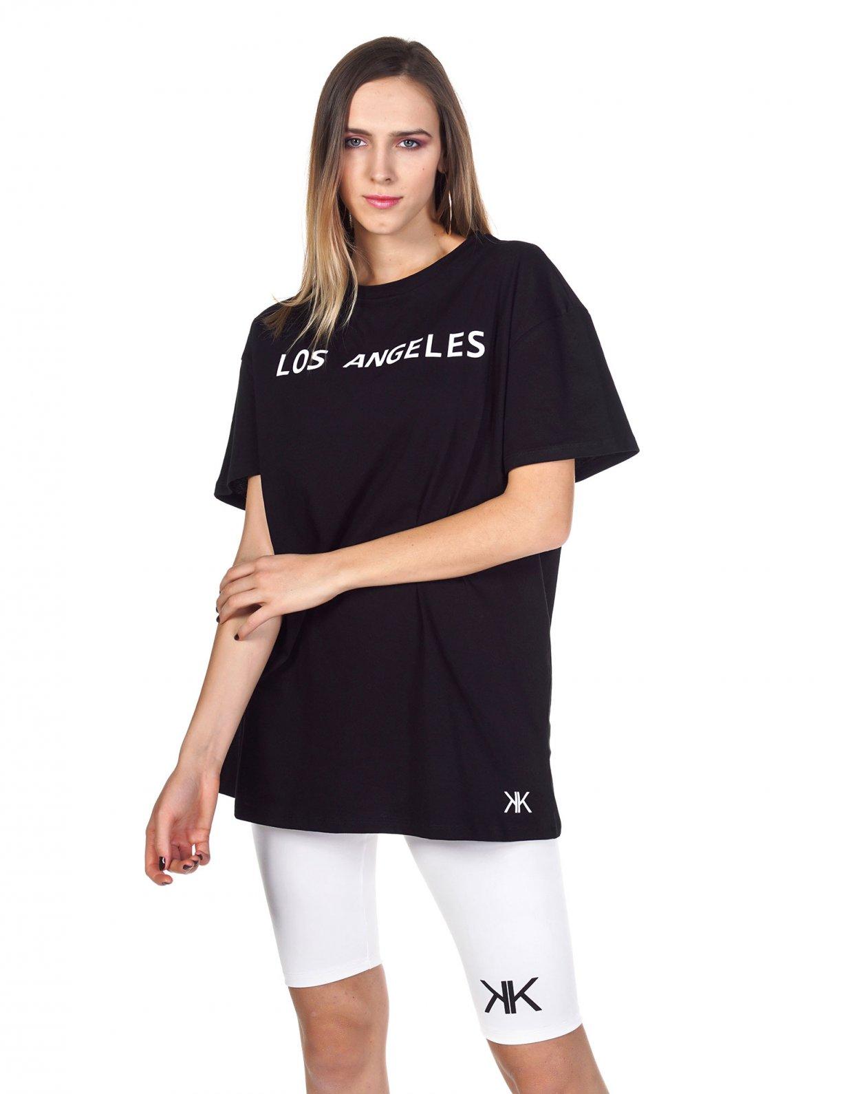 Kendall + Kylie Active LA oversized t-shirt black