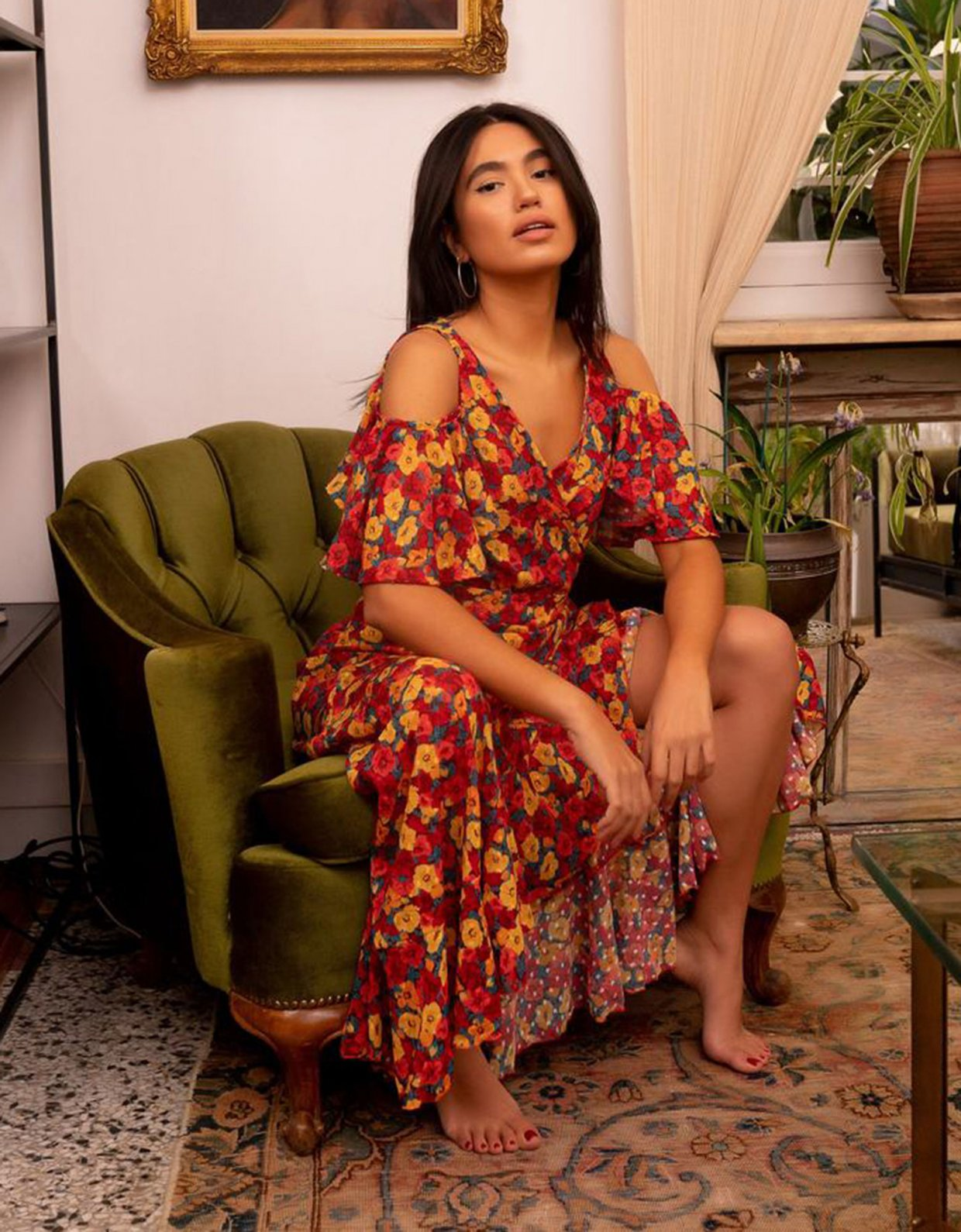 Abstracto Ria dress