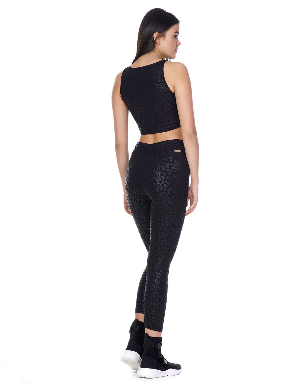 Kendall + Kylie Active leopar leggings