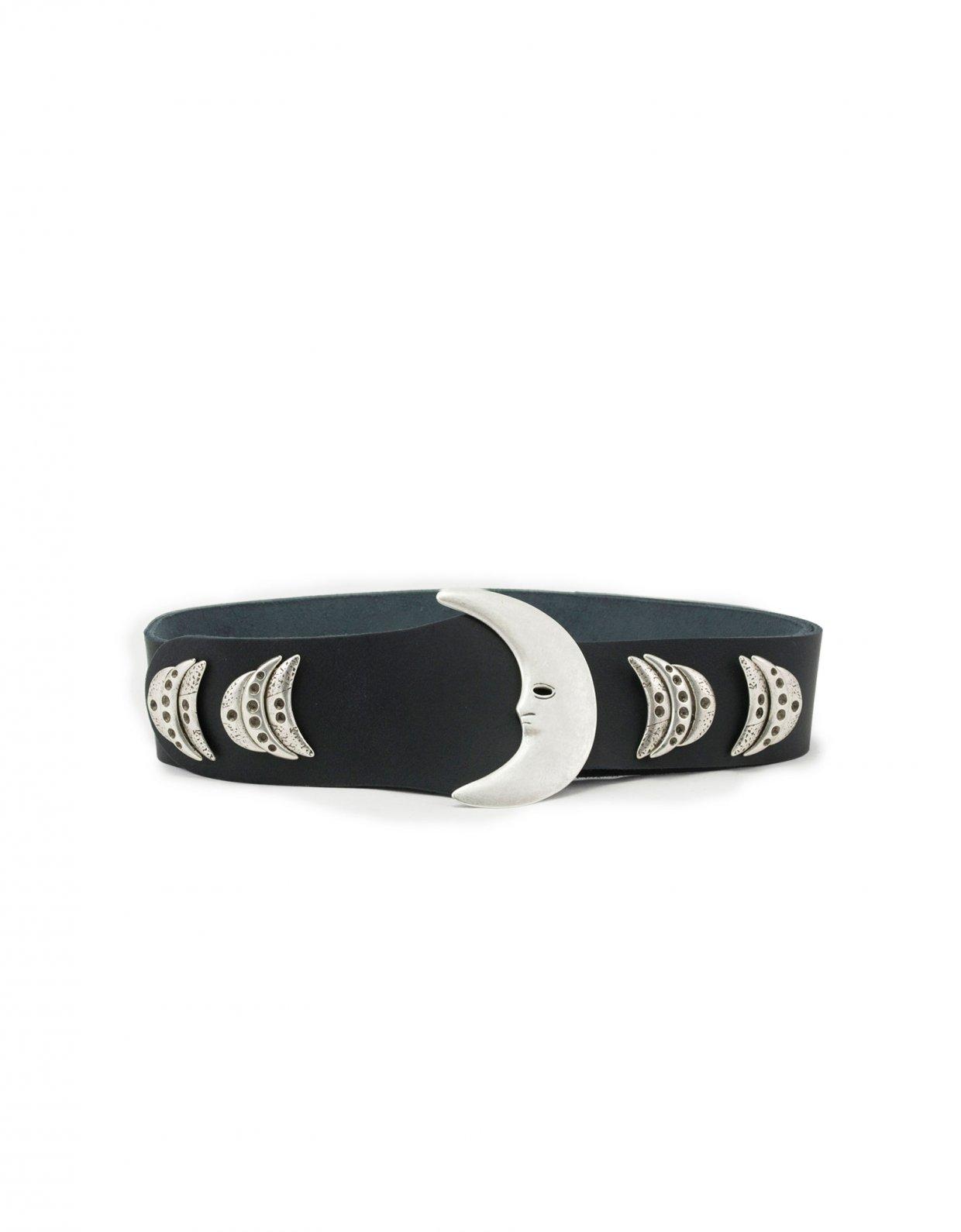 Individual Art Leather Moondance belt black
