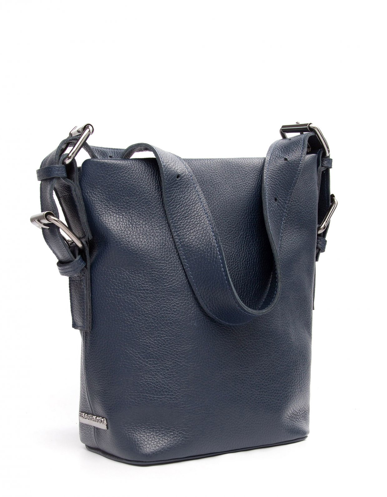 Elena Athanasiou Day to evening pouch large blue