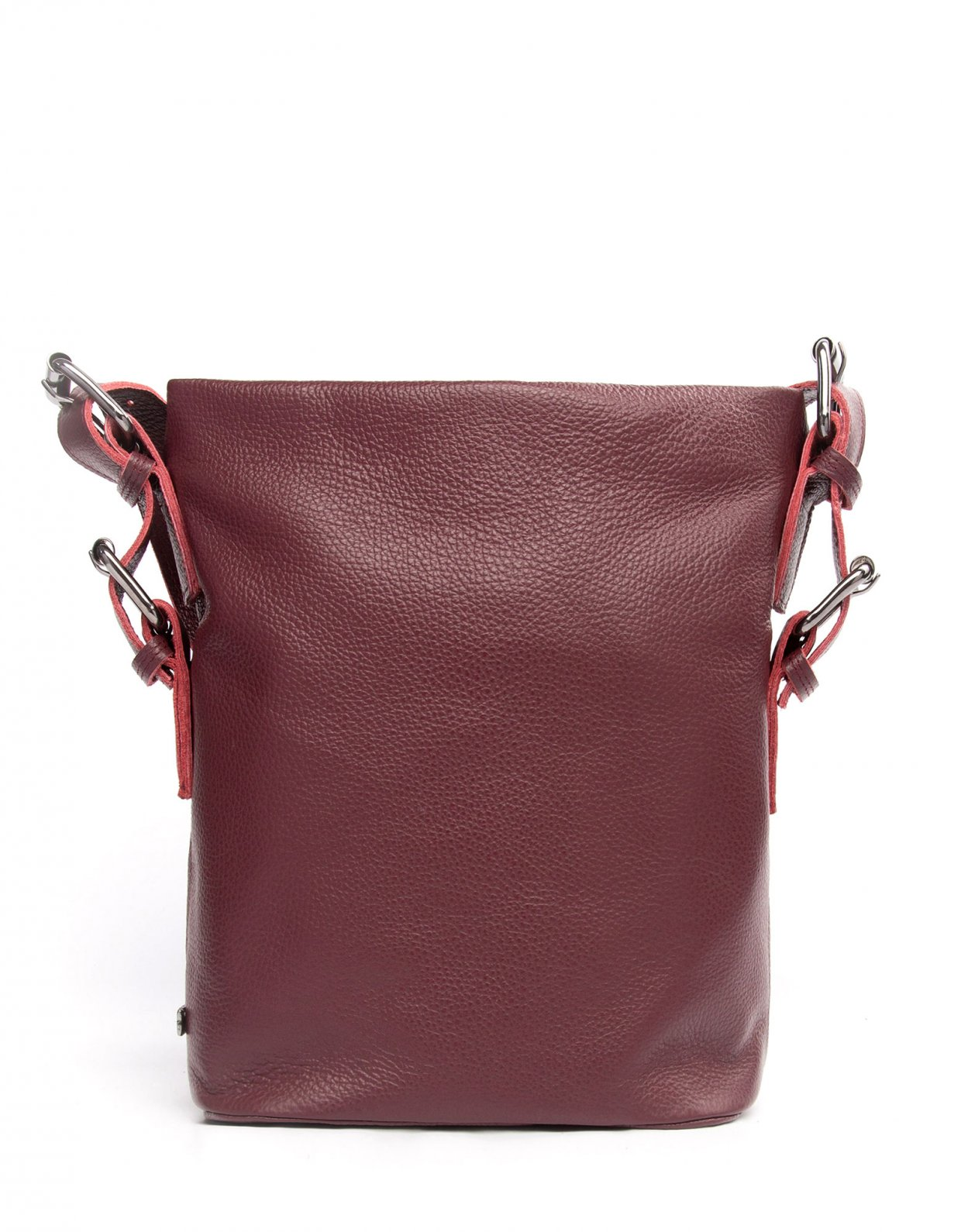 Elena Athanasiou Day to evening pouch large burgundy