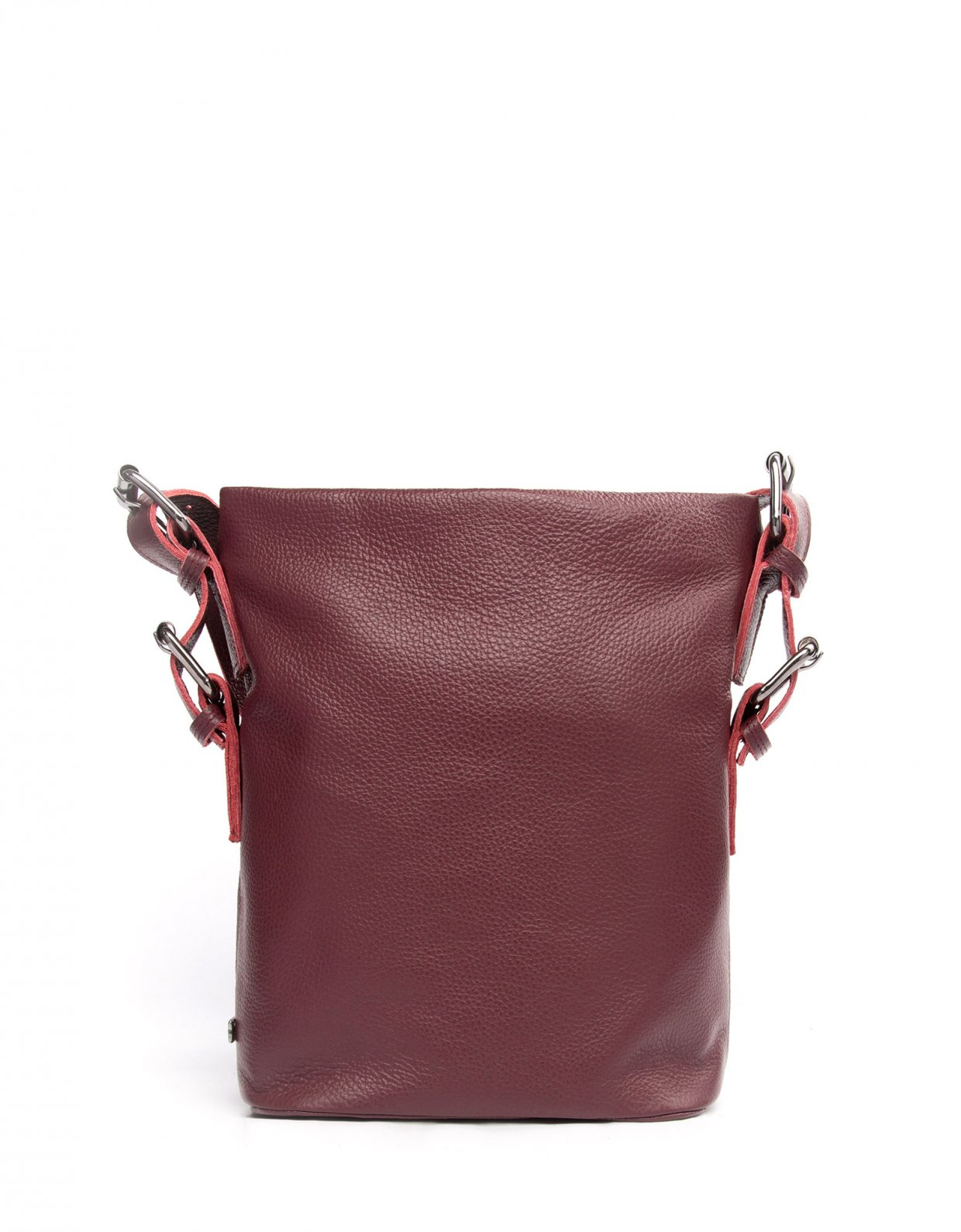Elena Athanasiou Day to evening pouch small burgundy