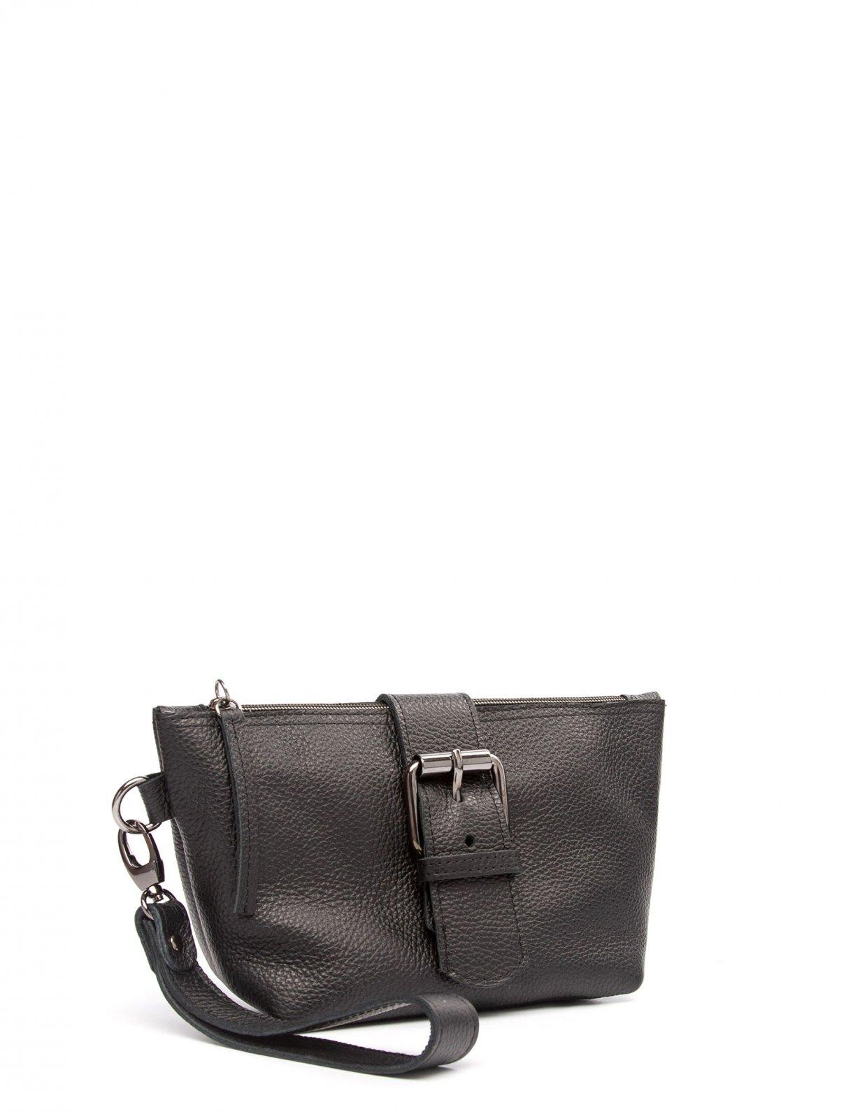 Elena Athanasiou Day to evening clutch bag black