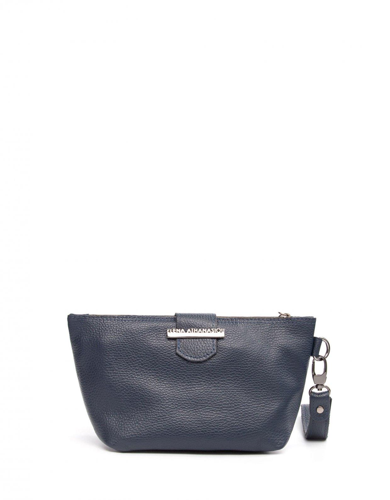 Elena Athanasiou Day to evening clutch bag blue