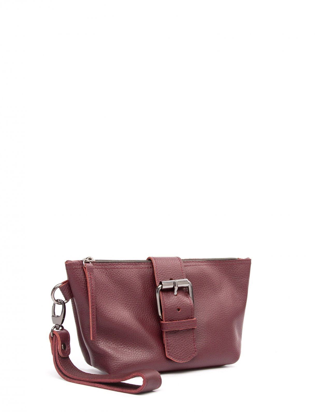 Elena Athanasiou Day to evening clutch bag burgundy