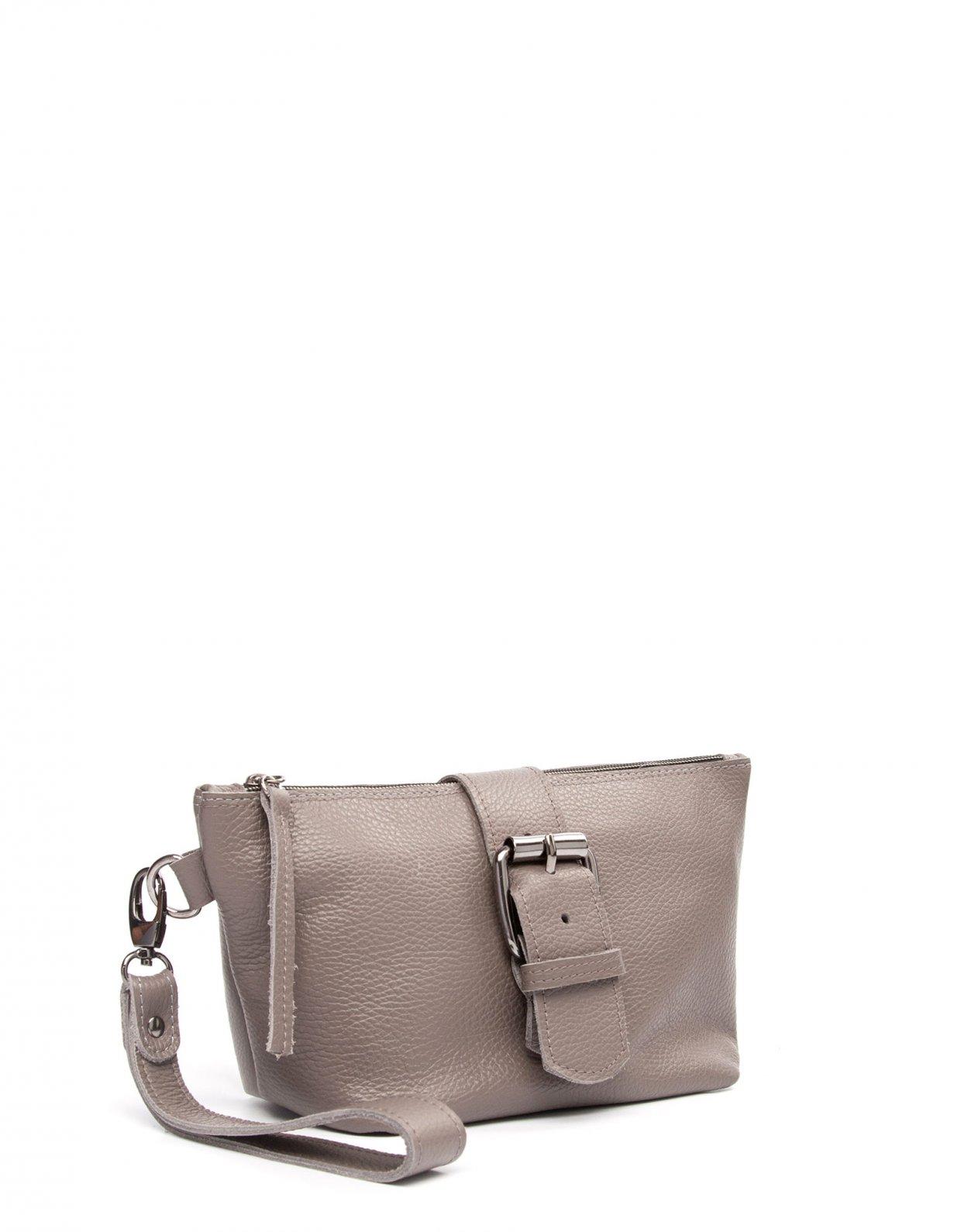 Elena Athanasiou Day to evening clutch bag grey