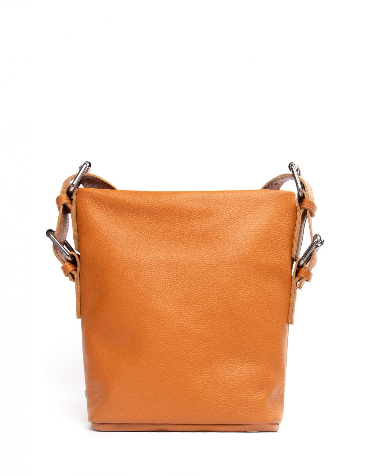 Elena Athanasiou Day to evening pouch small cognac