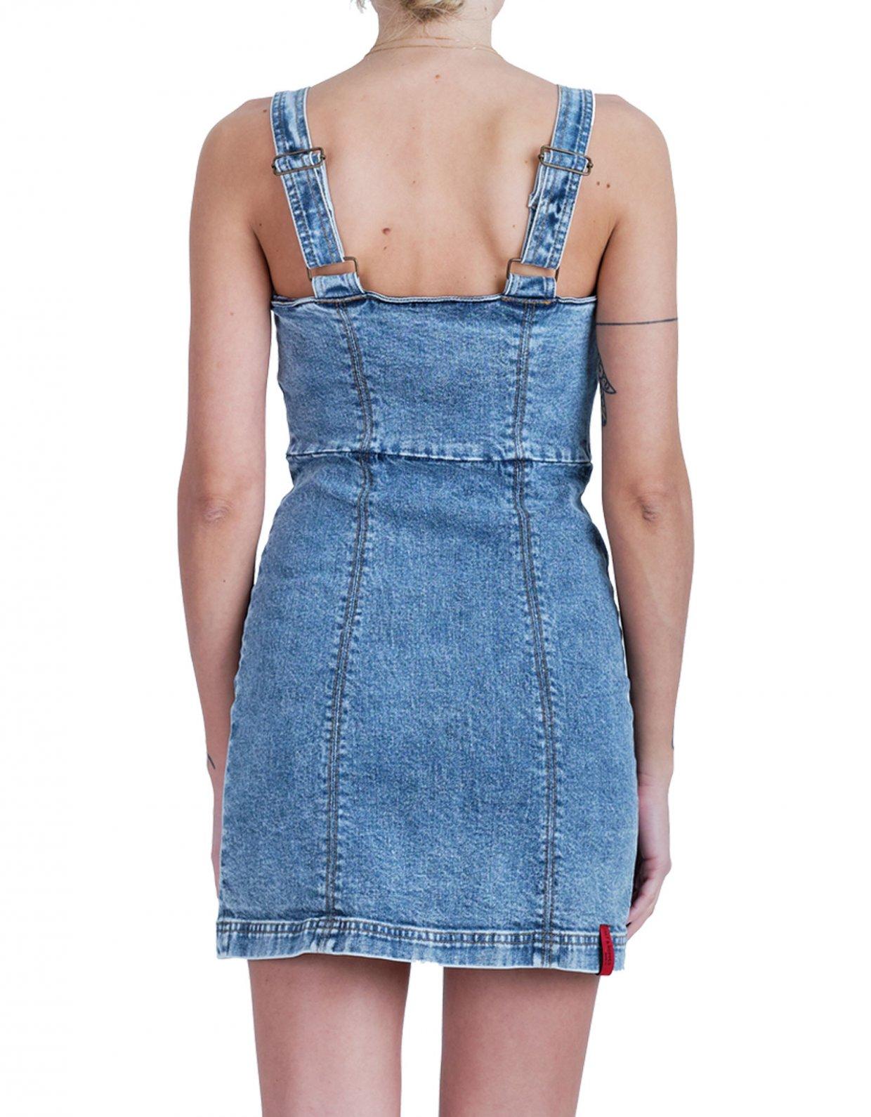 Salt & Pepper Elisa barrel dress