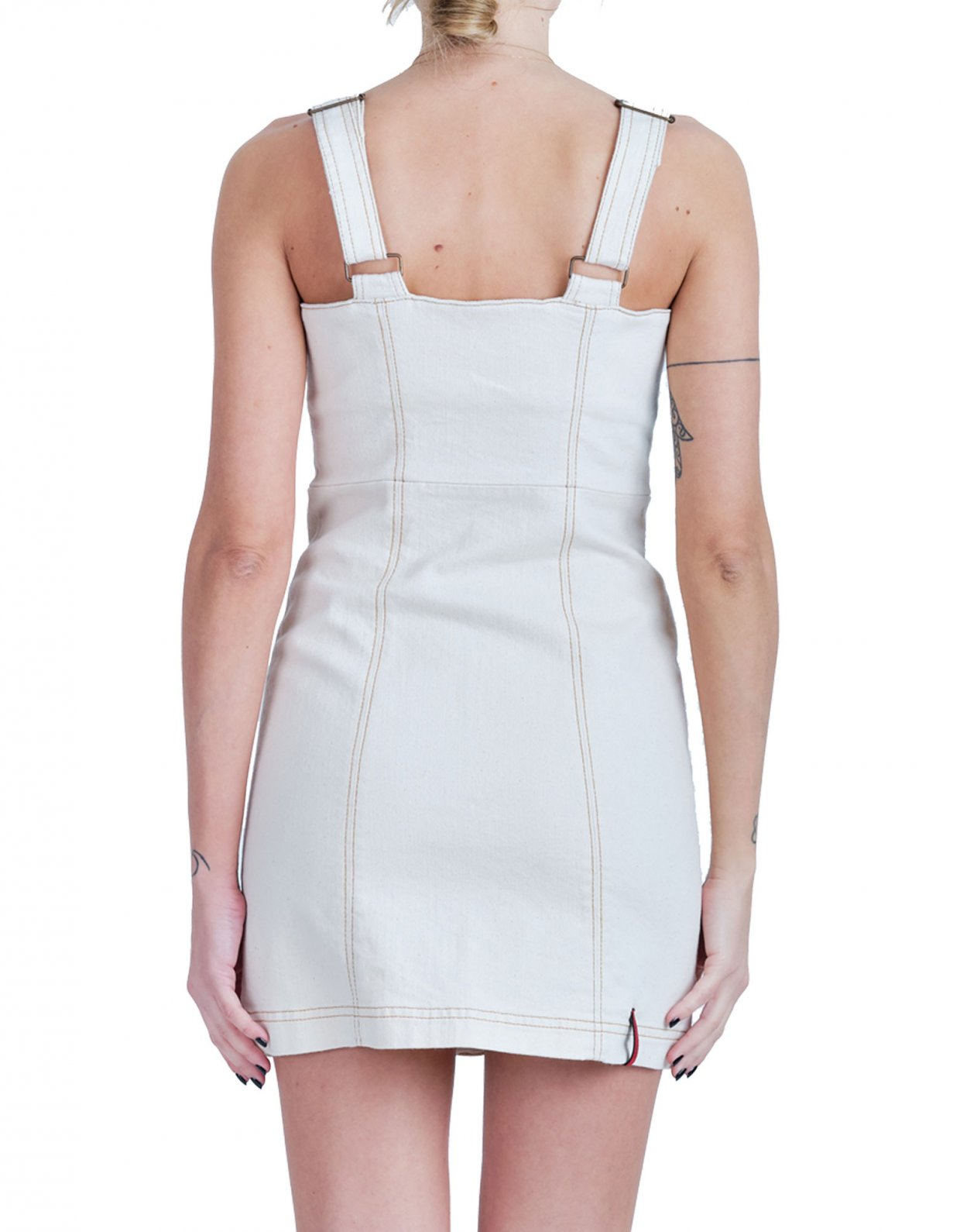 Salt & Pepper Elisa cream dress
