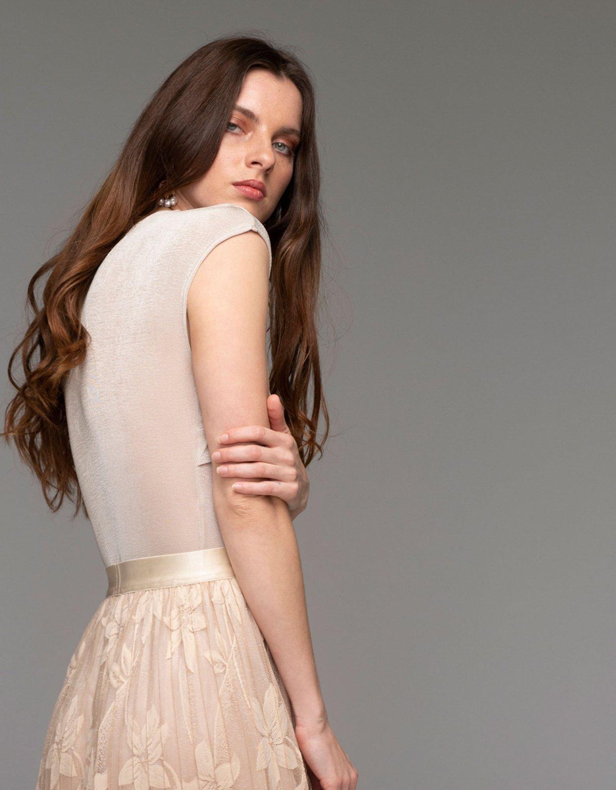 Nadia Rapti Eze bodysuit beige