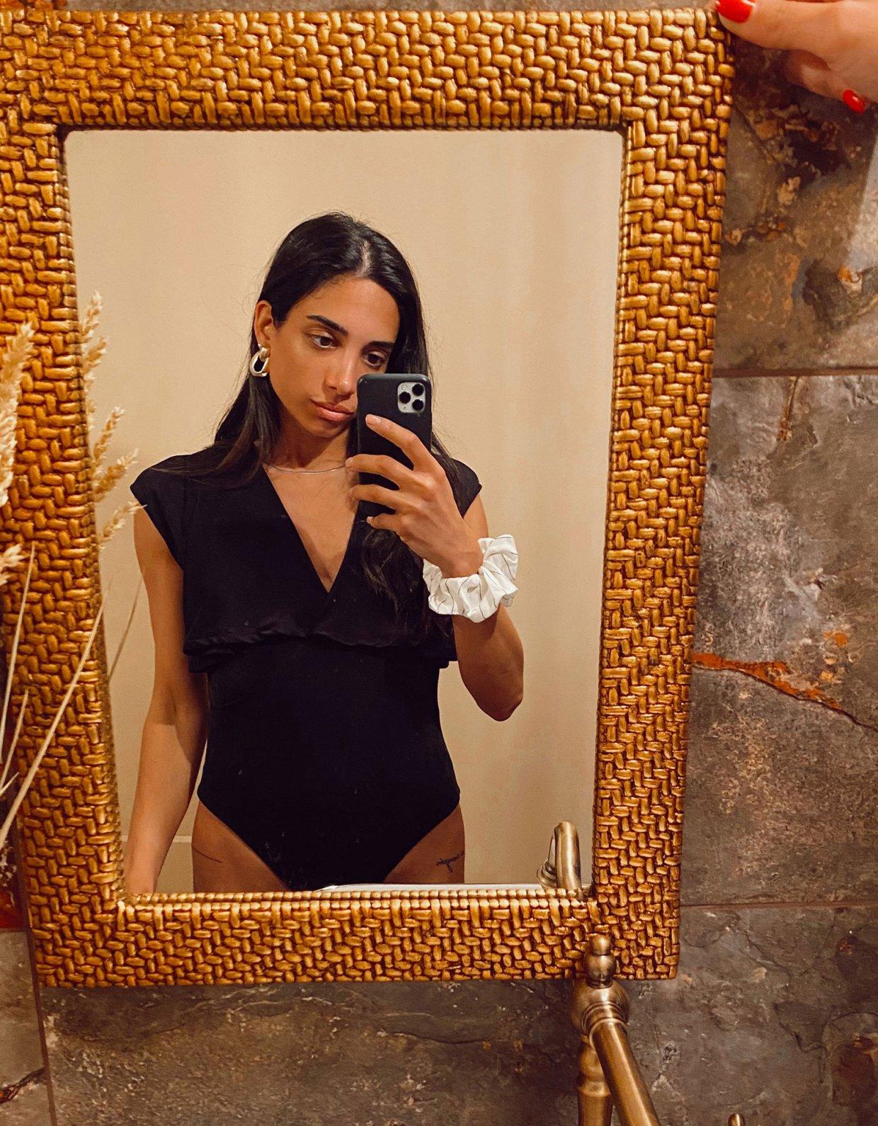 Nadia Rapti Eze bodysuit black
