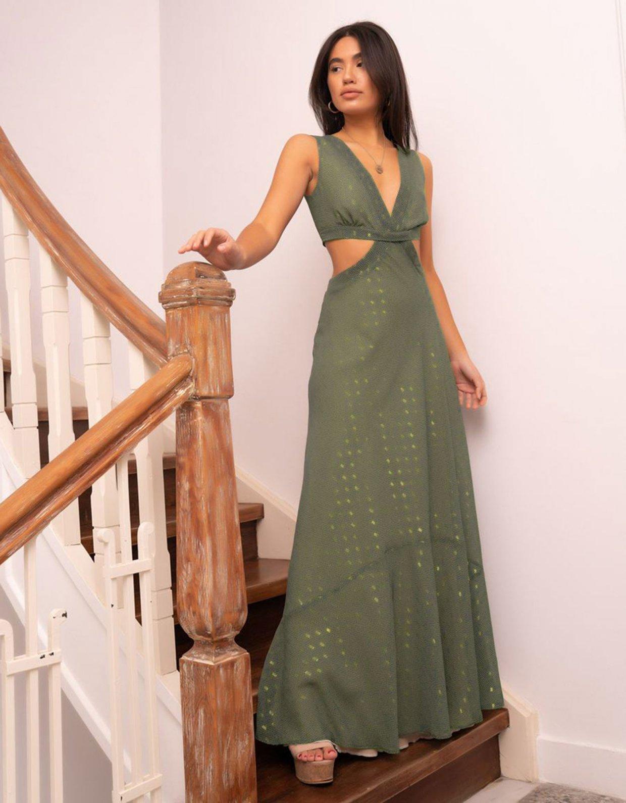 Abstracto Gari dress
