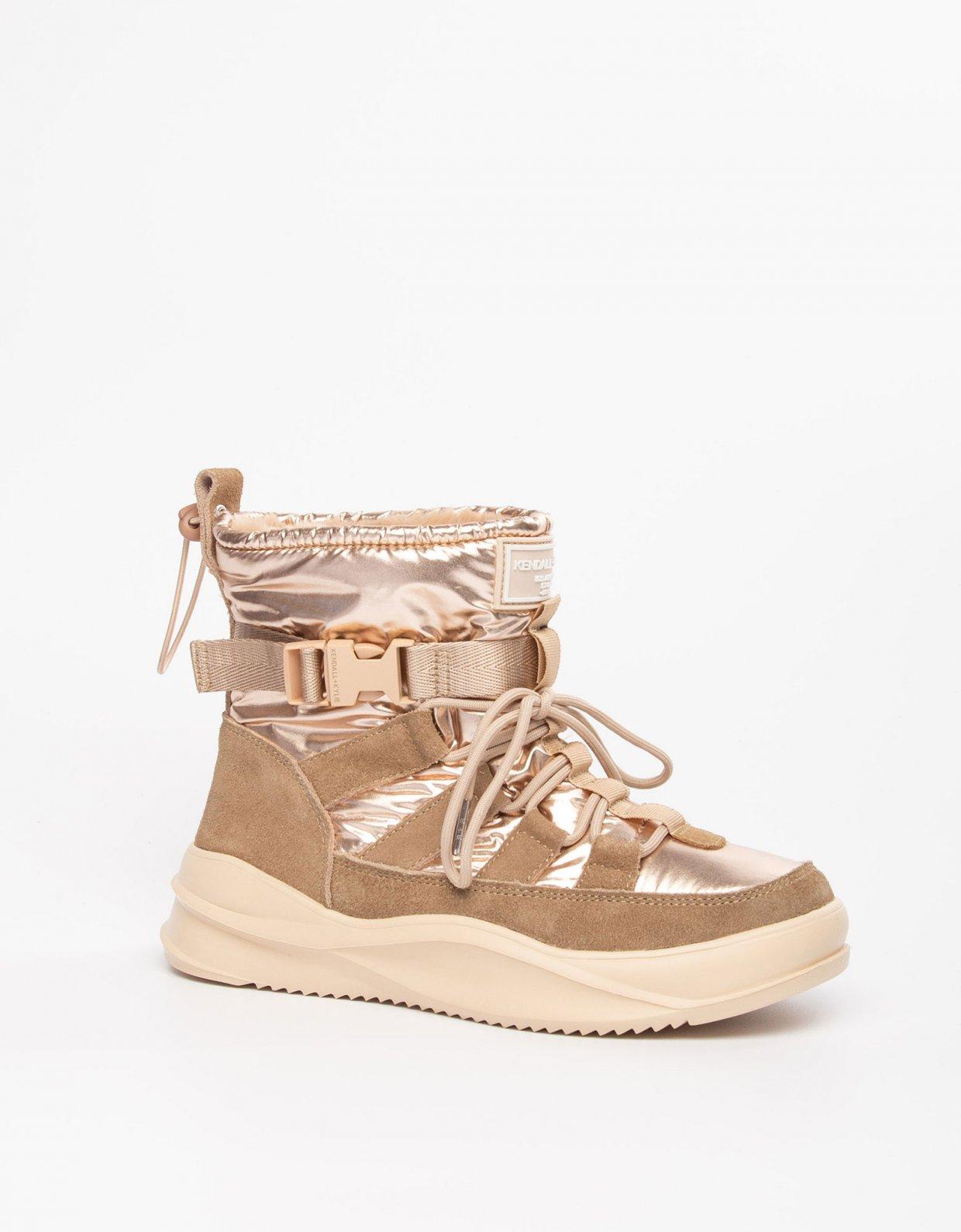 Kendall + Kylie Evor boots sand
