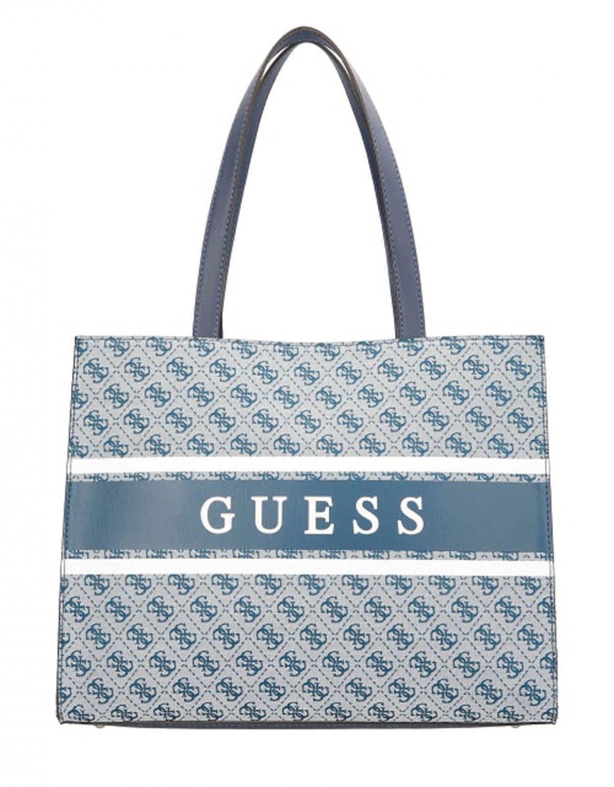 Guess Monique shopper bag blue