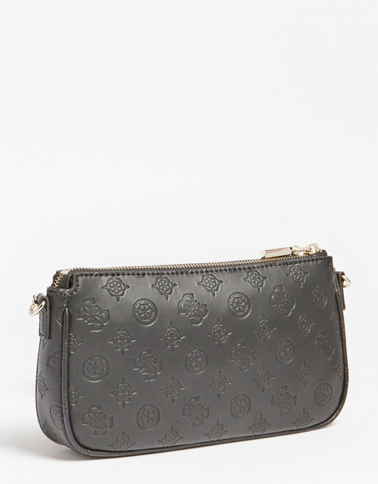 Guess Dayane double pouch crossbody black