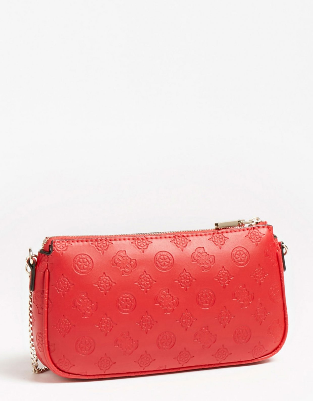 Guess Dayane double pouch crossbody red
