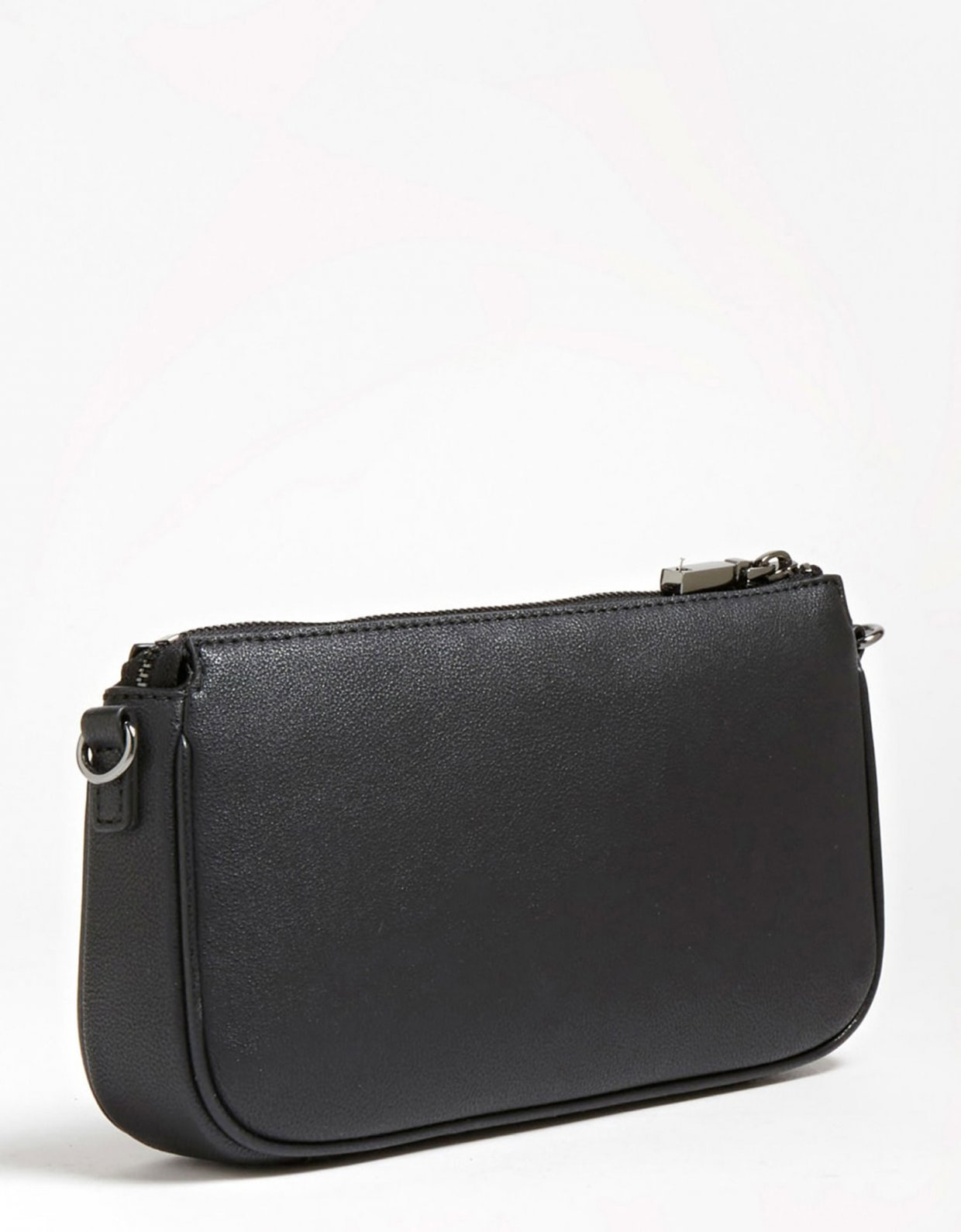 Guess Mika double pouch crossbody black