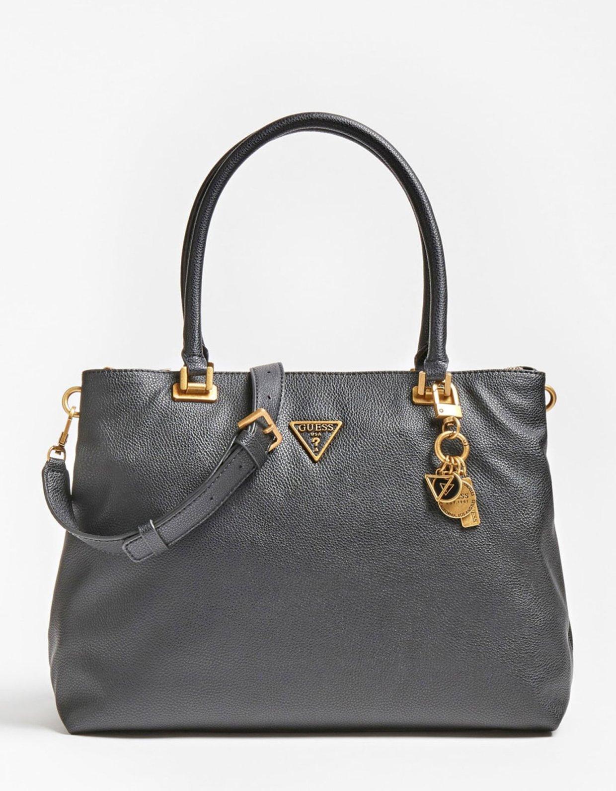 Guess Destiny society carry all shoulder bag black