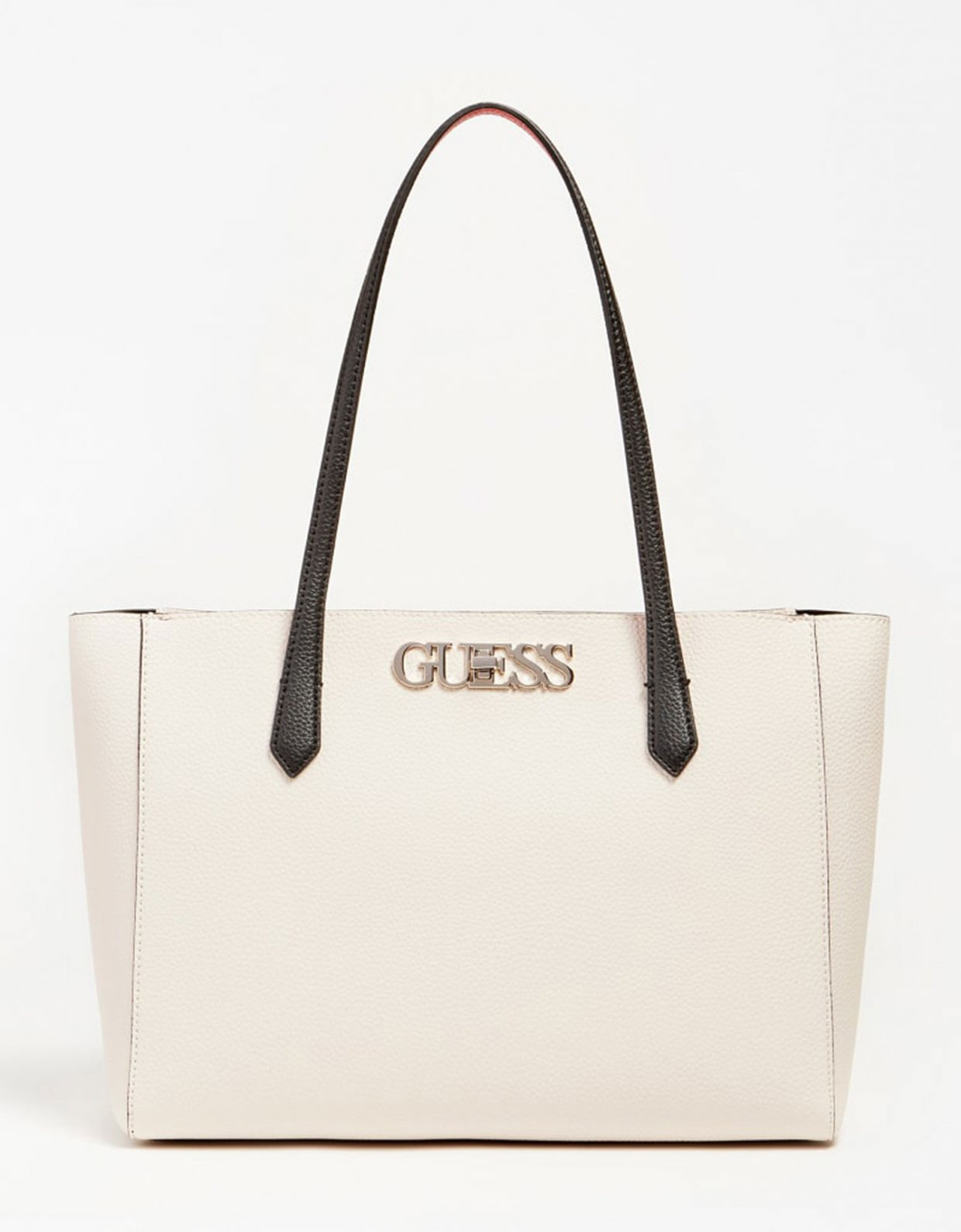 Guess Uptown chic elite tote bag stone multi
