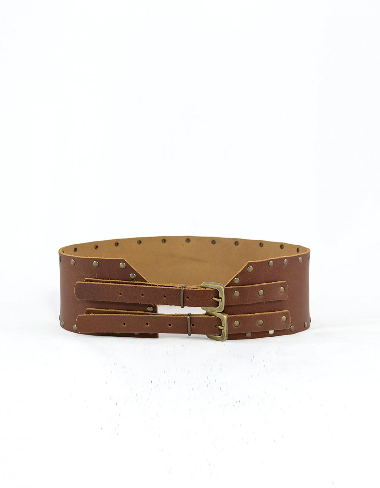 Peace & Chaos Harmony belt tanned