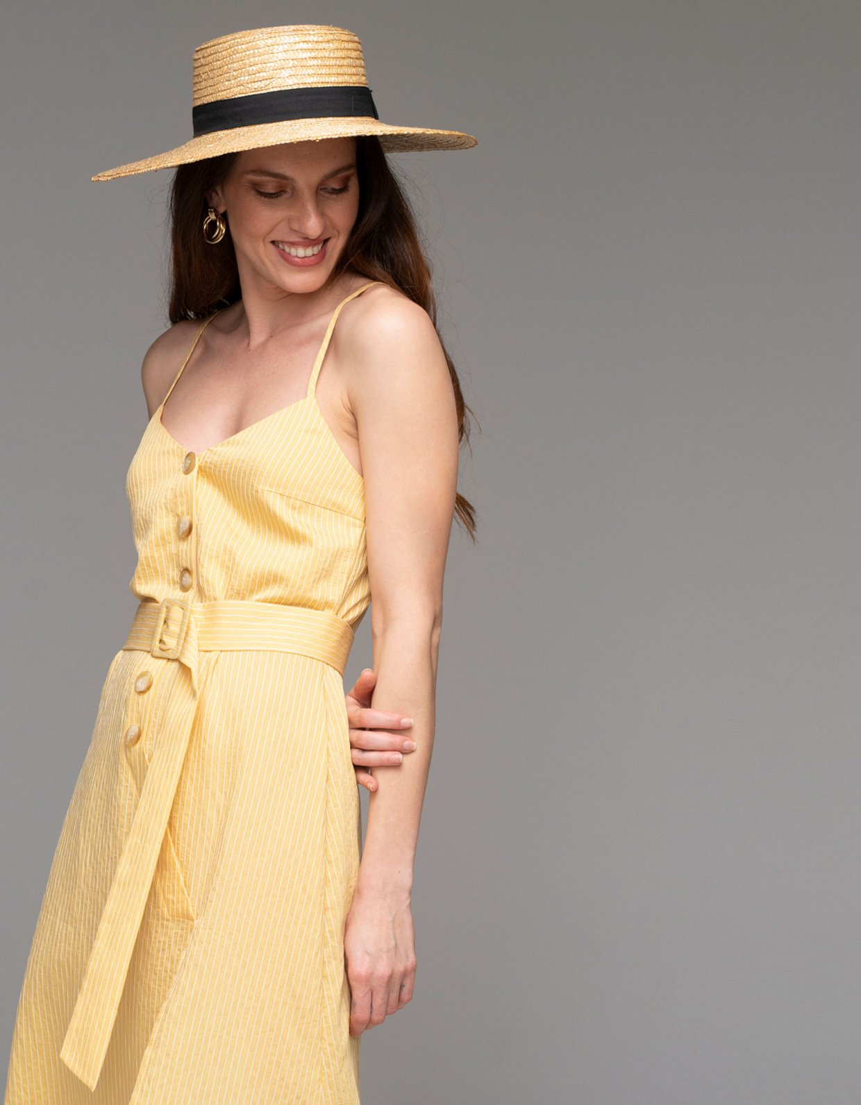 Nadia Rapti Hyeres dress yellow