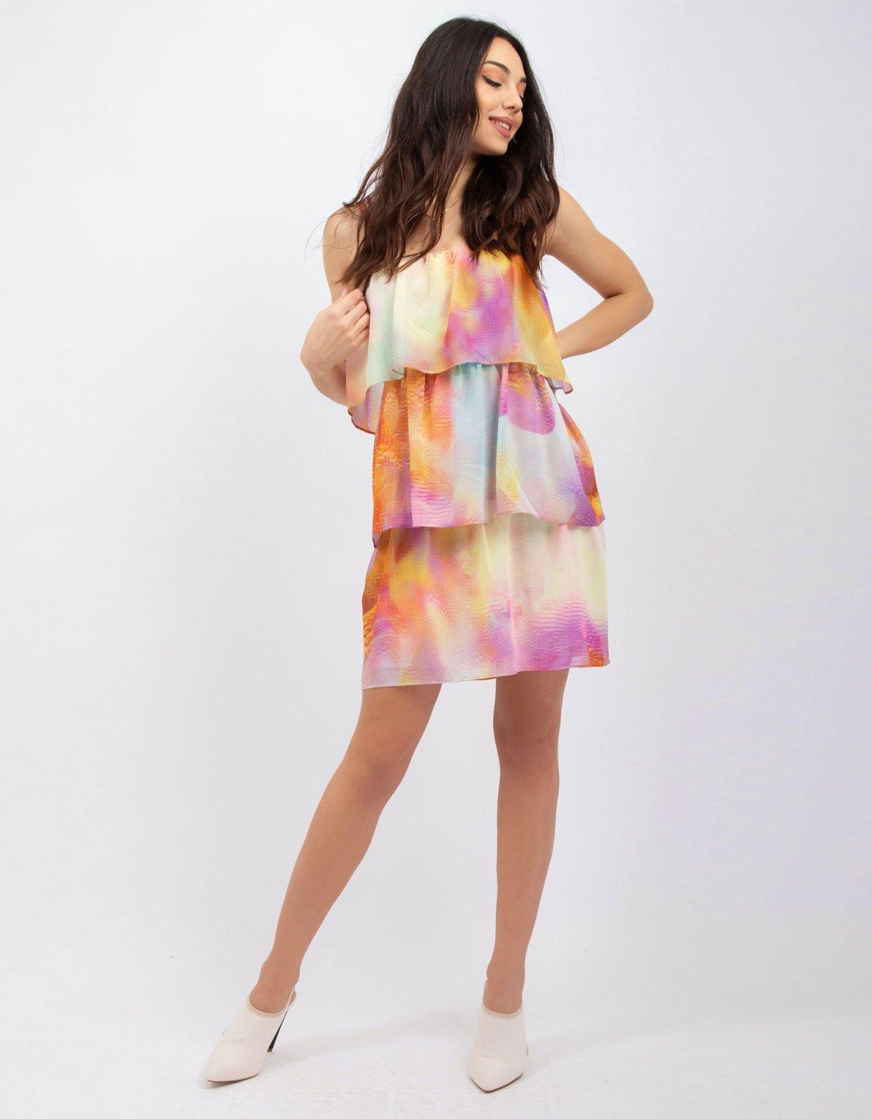 Kendall + Kylie Tie dye strap dress