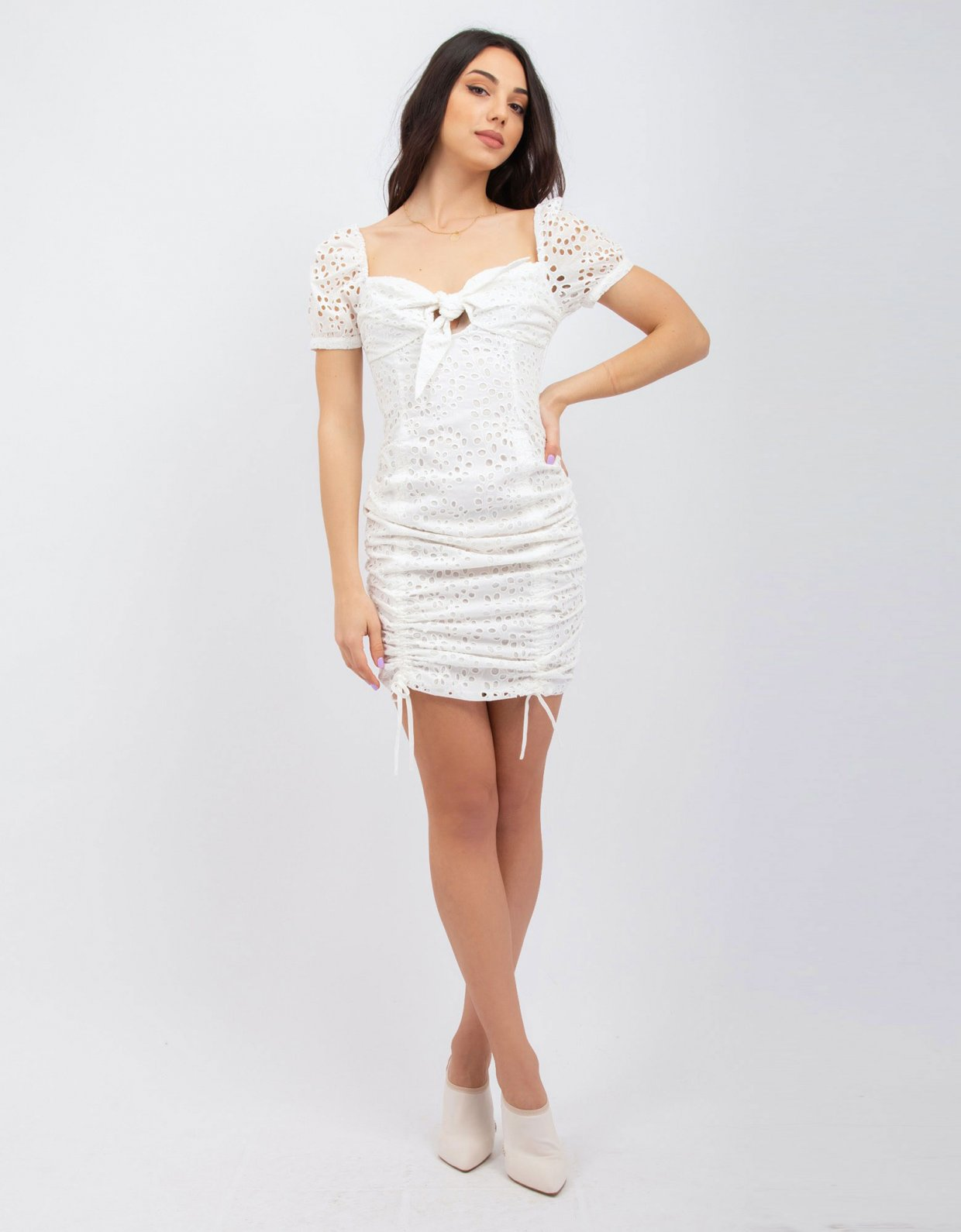 Kendall + Kylie Travel white dress