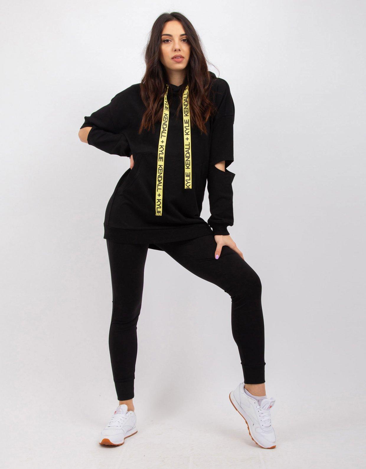 Kendall + Kylie Black sweatshirt
