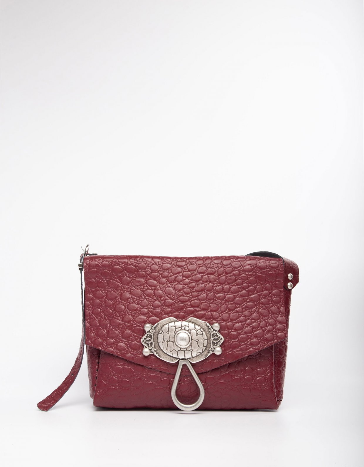 Individual Art Leather Casablanca burgundy bag