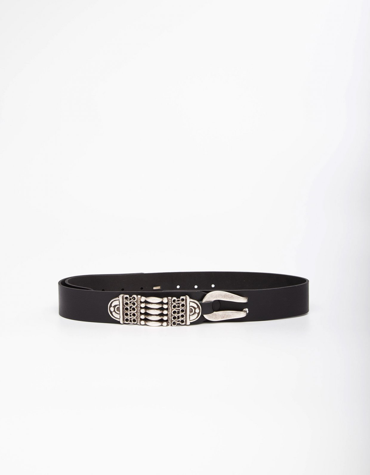 Individual Art Leather Reggae night black belt