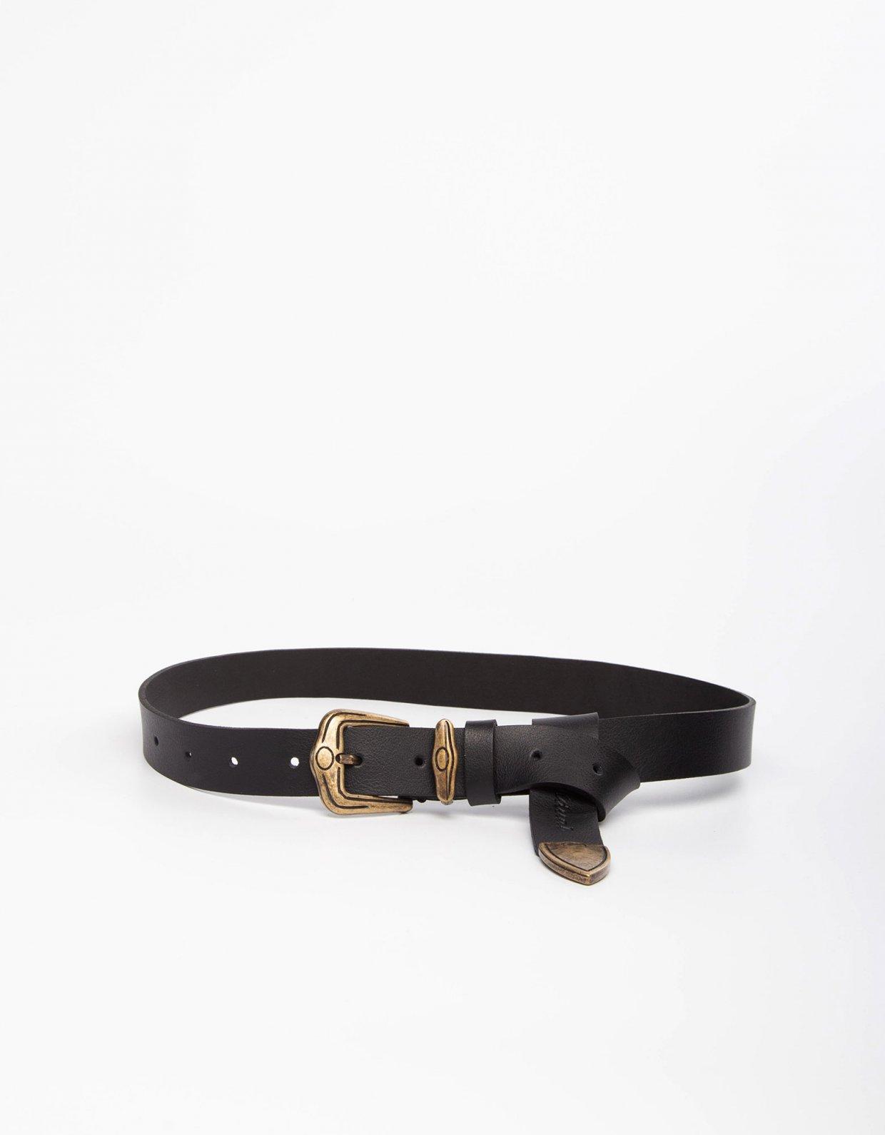 Individual Art Leather Feeling good black/bronze belt
