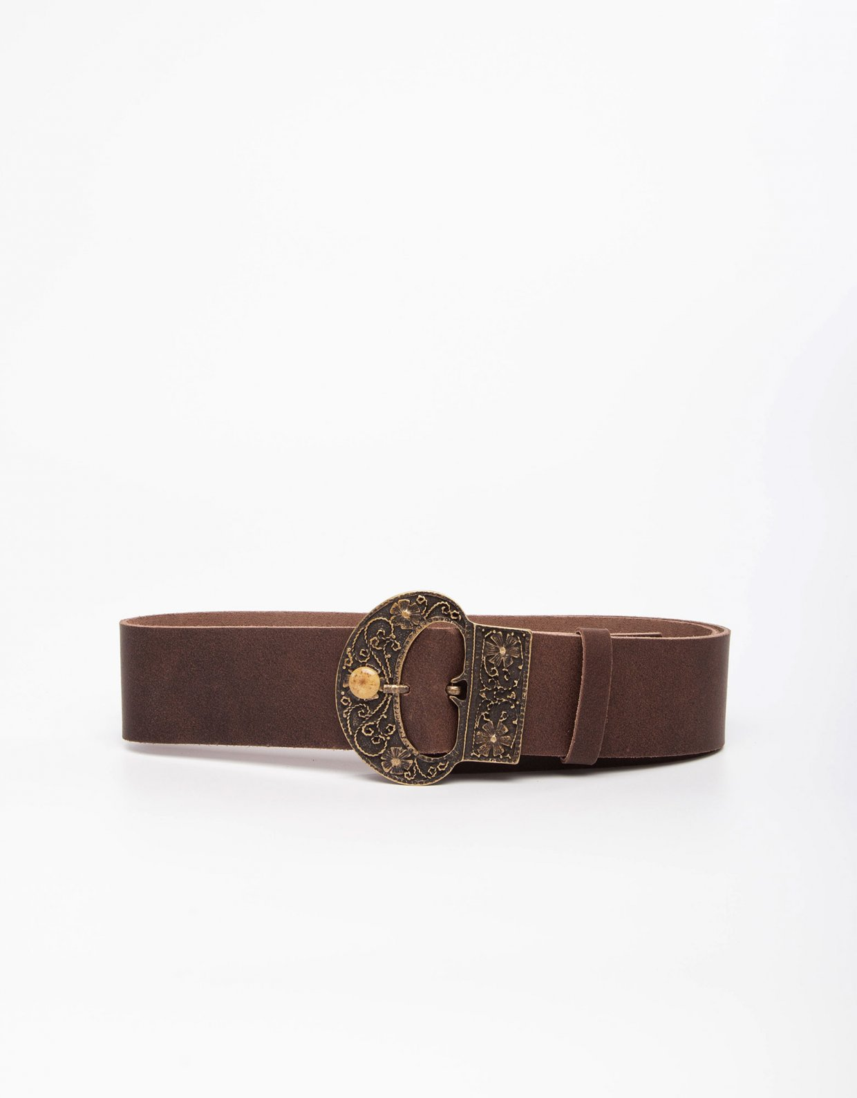 Individual Art Leather Darling brown belt
